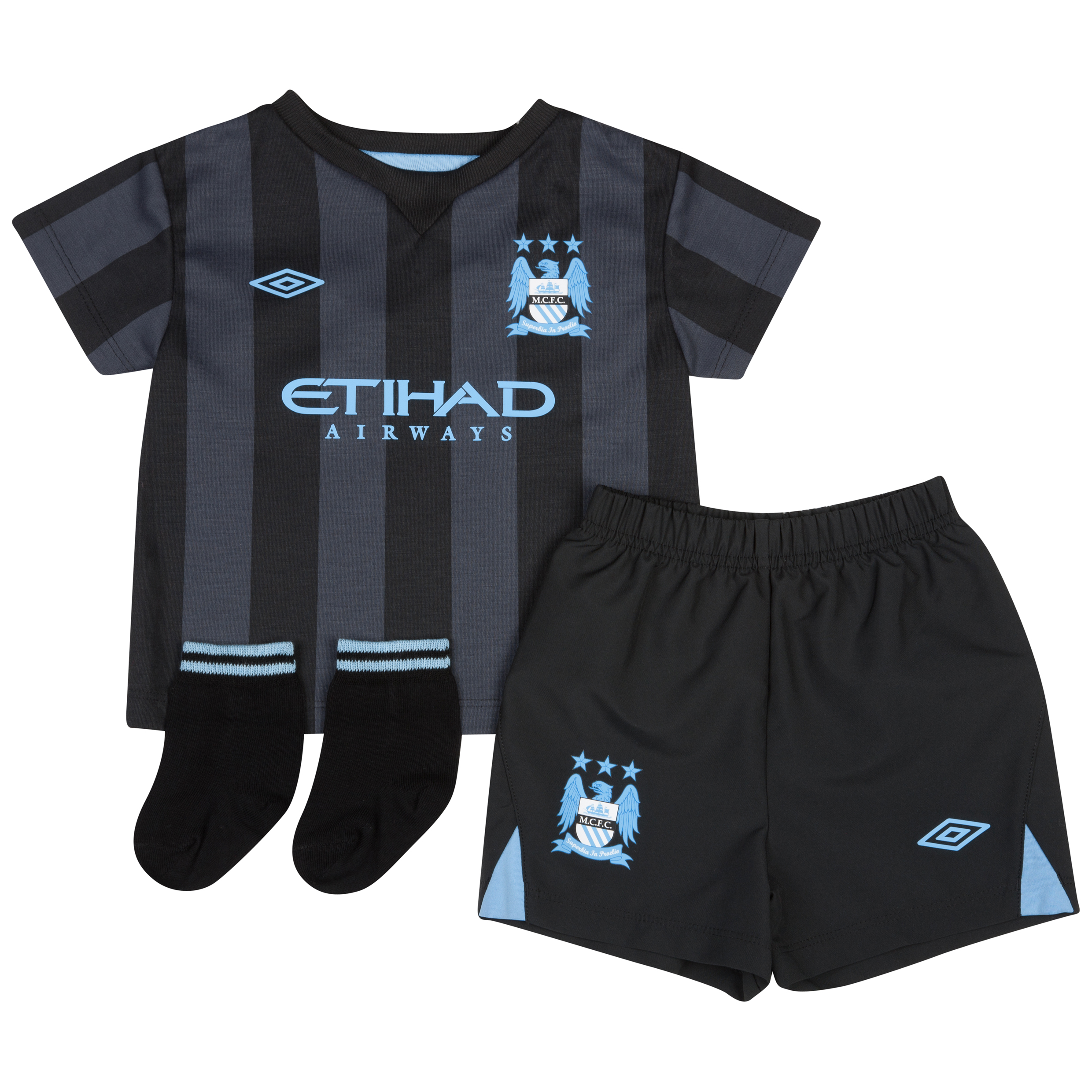 Manchester City Third Baby Kit 2012/13