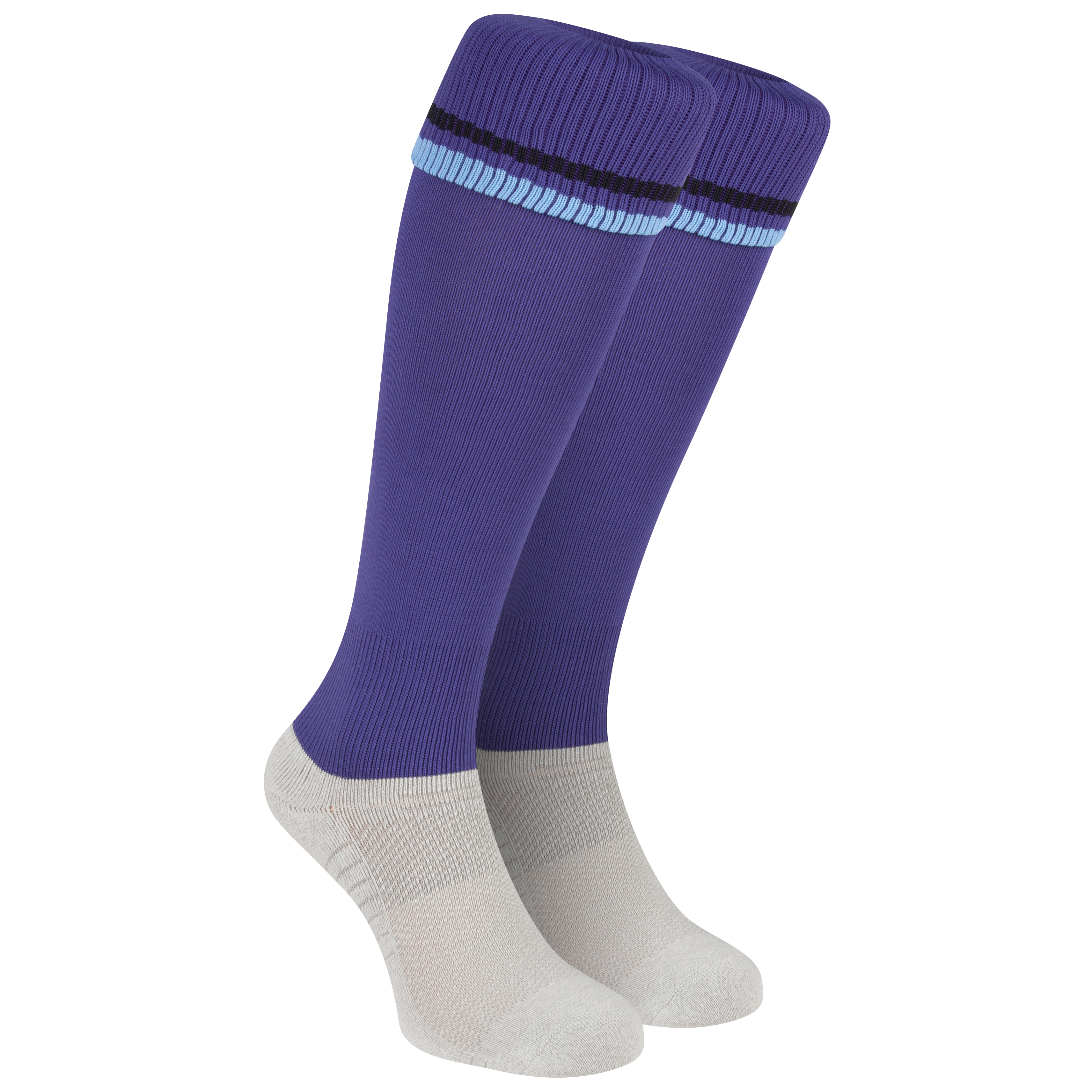 Manchester City Away Goalkeeper Sock 2012/13 - Junior