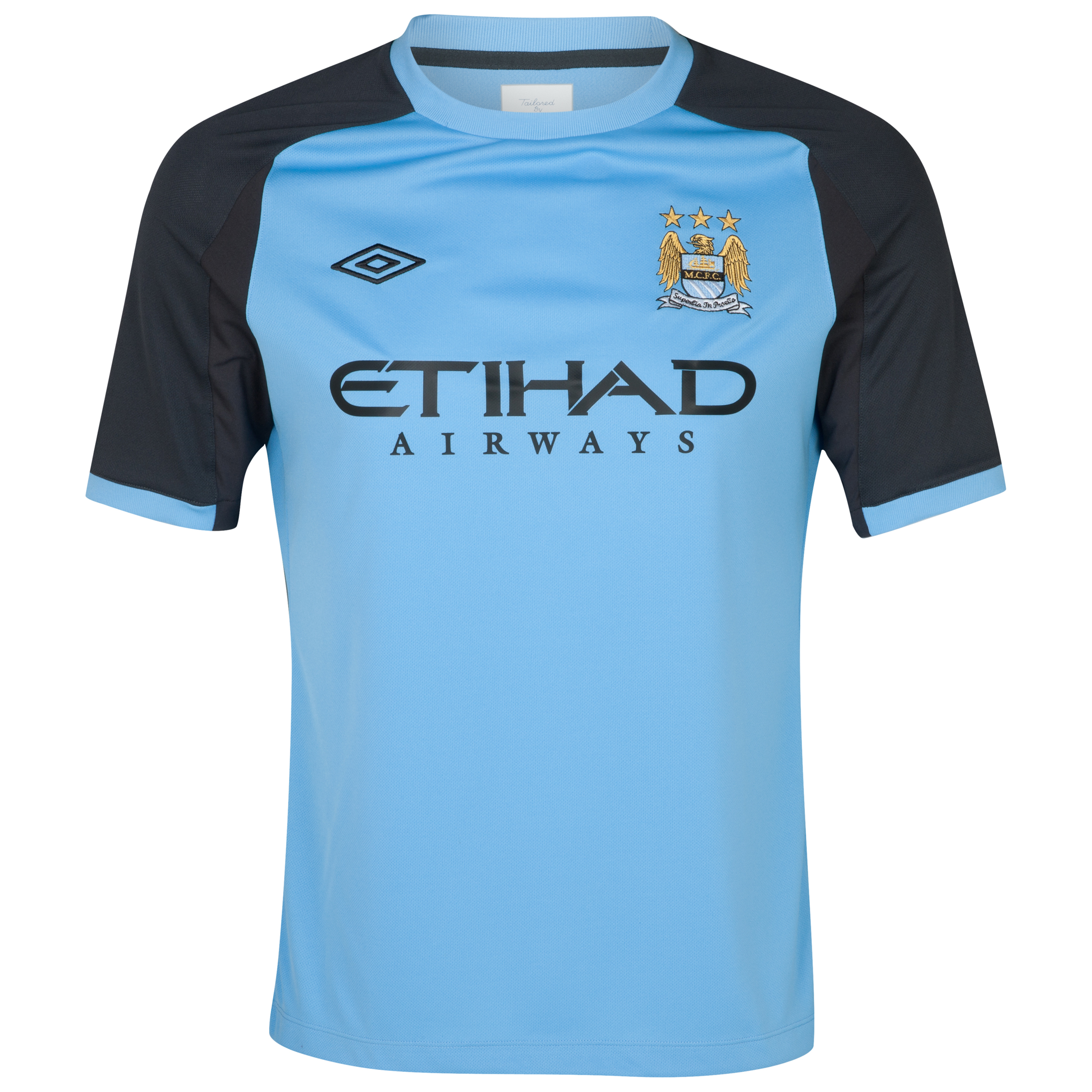Manchester City Training T-Shirt - Vista Blue / Carbon