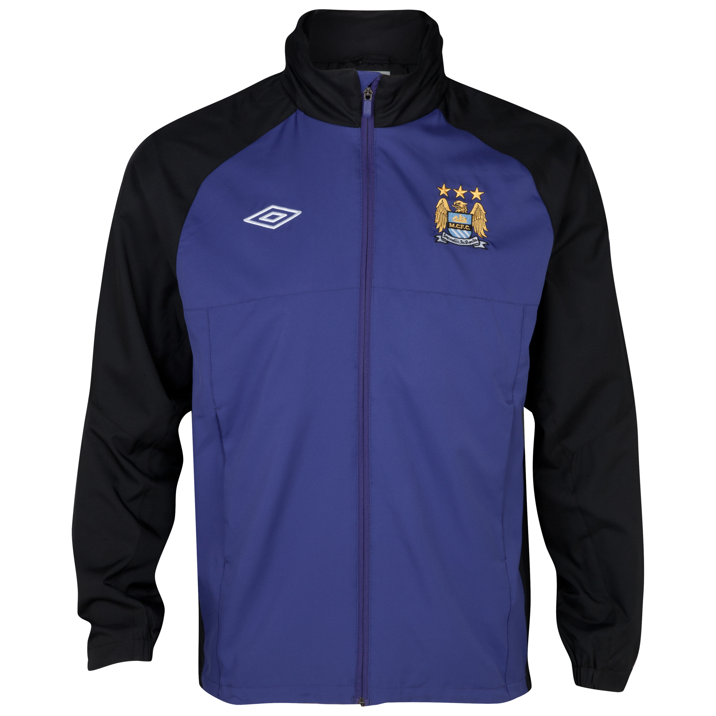 Manchester City Training Shower Jacket - Deep Wisteria / Black