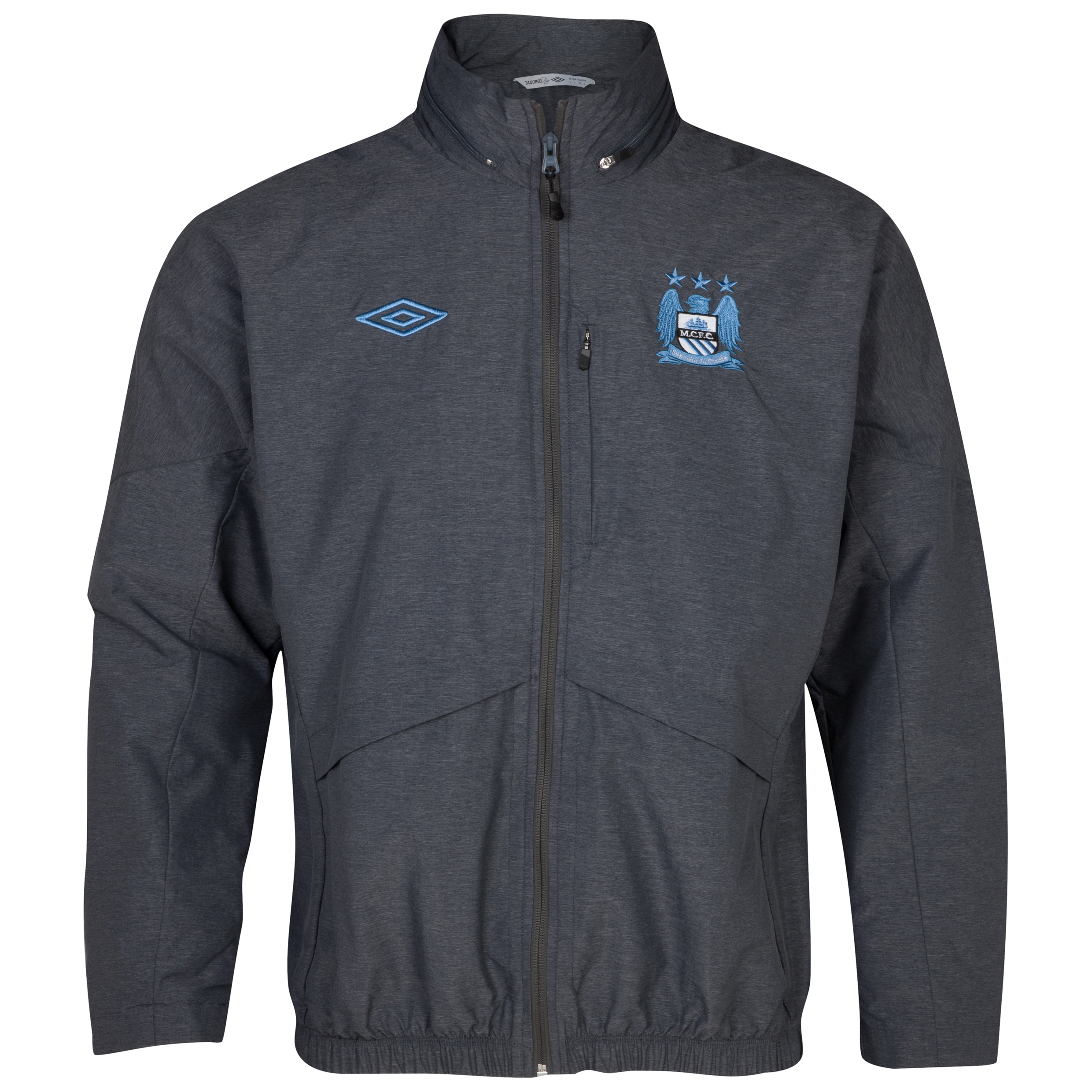 Manchester City Performance Woven Jacket - Carbon Marl