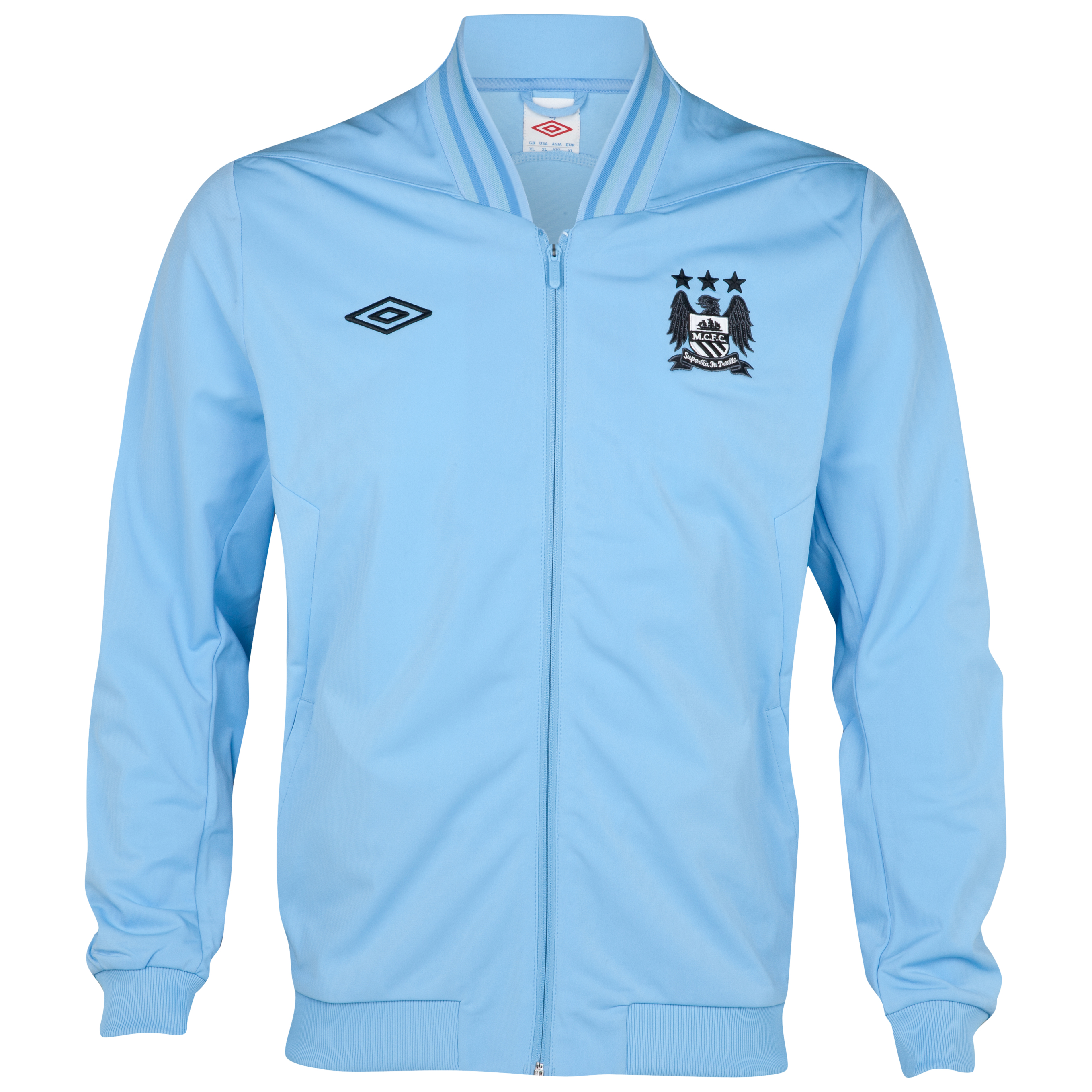 Manchester City Media Jacket - Vista Blue