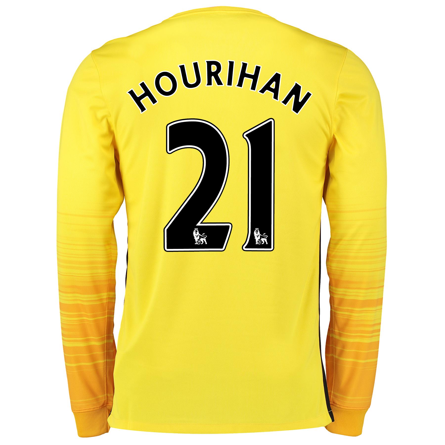 Manchester City Women 2nd Choice Goalkeeper Shirt 2015/16 Yellow with