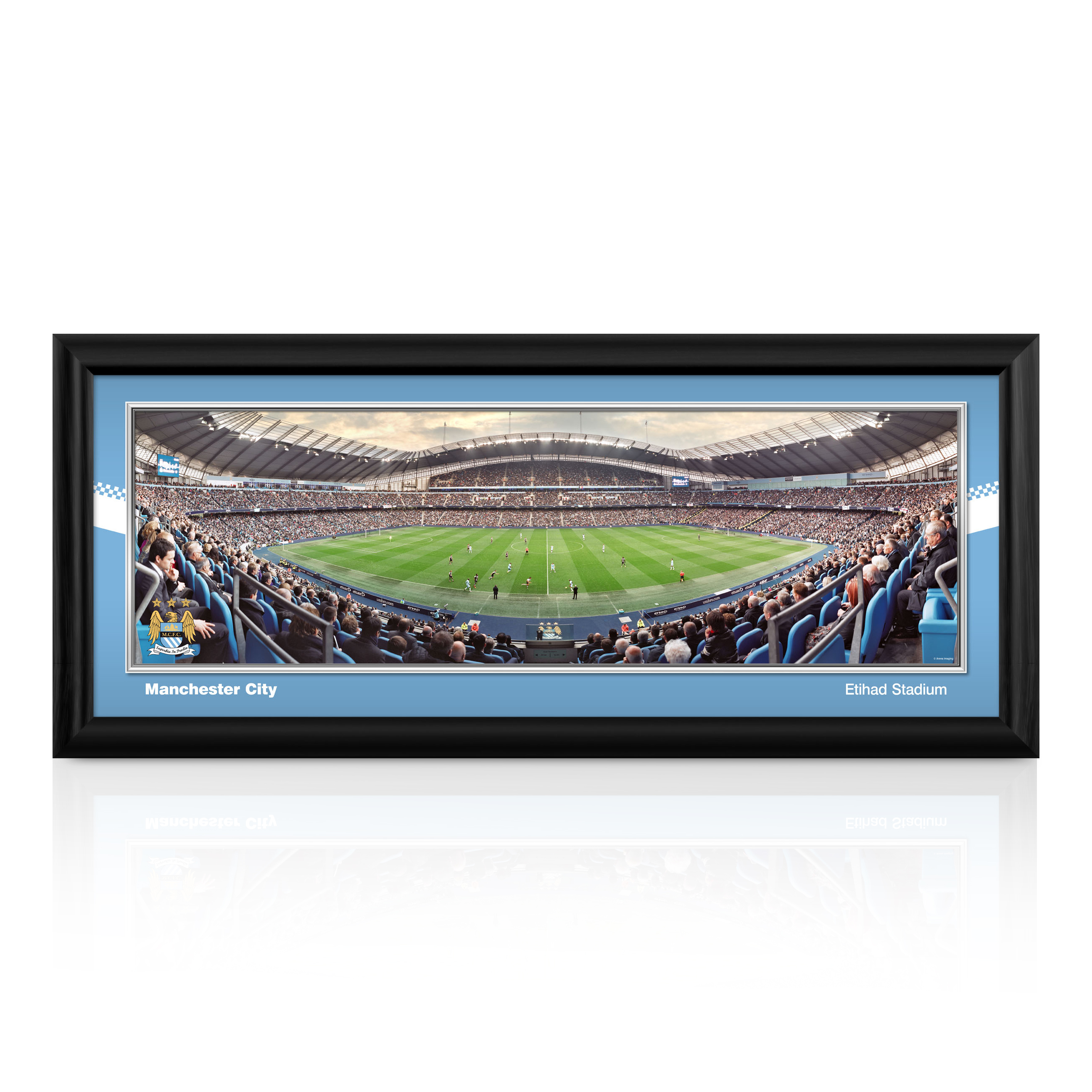 Manchester City 30 inch Matchday Panoramic