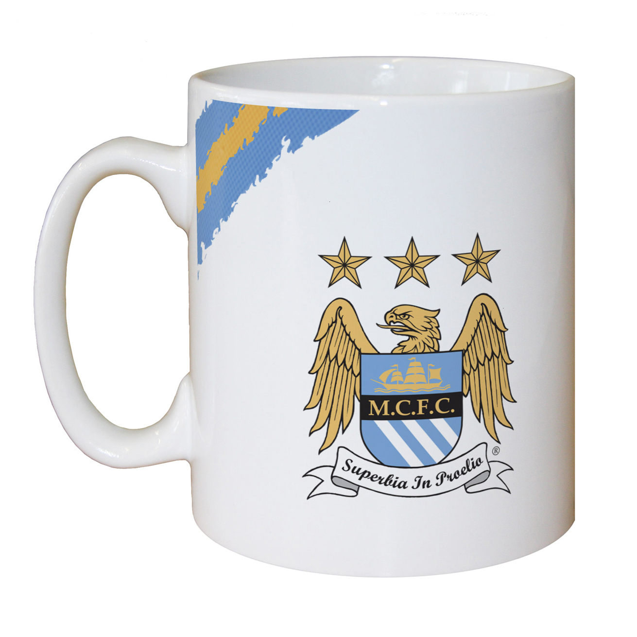 Manchester City Personalised Proud to be Blue Mug