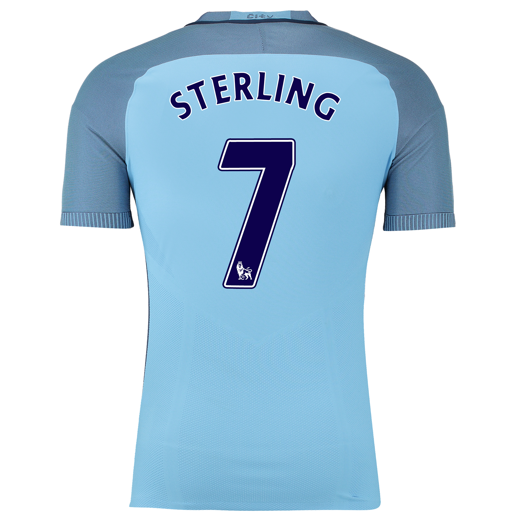 Manchester City Home Match Shirt 2016-17 with Sterling 7 printing