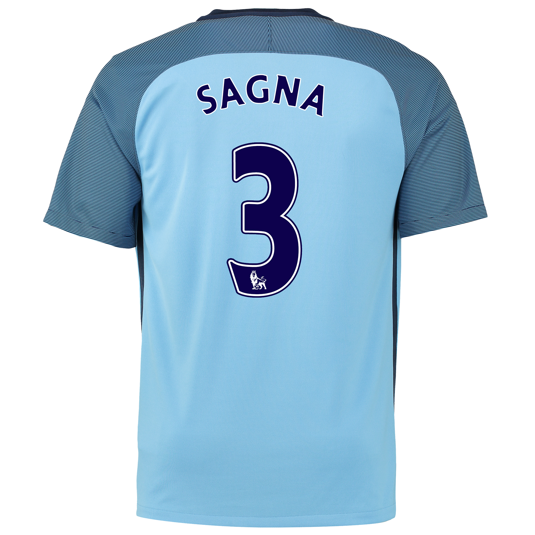 Manchester City Home Shirt 2016-17 with Sagna 3 printing