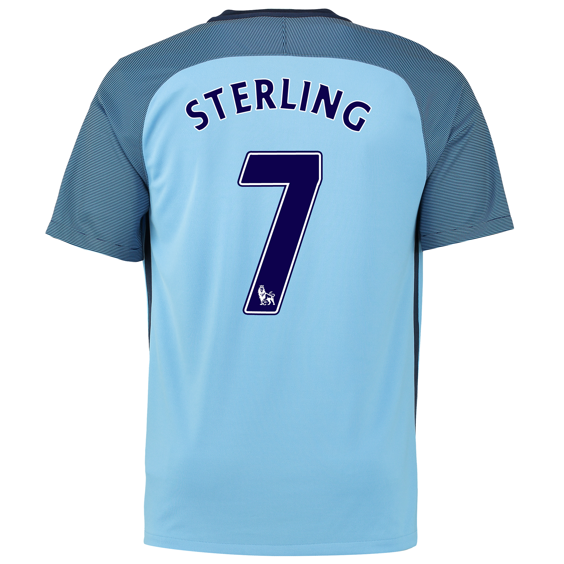 Manchester City Home Shirt 2016-17 with Sterling 7 printing