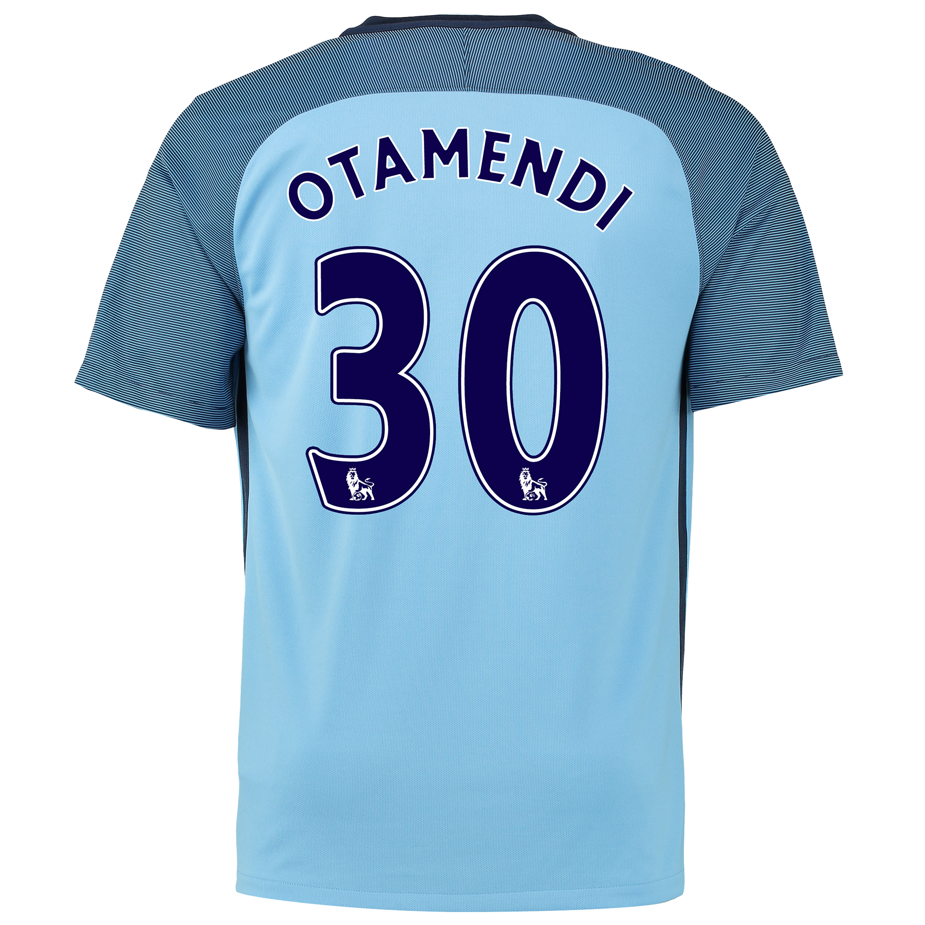 Manchester City Home Shirt 2016-17 with Otamendi 30 printing