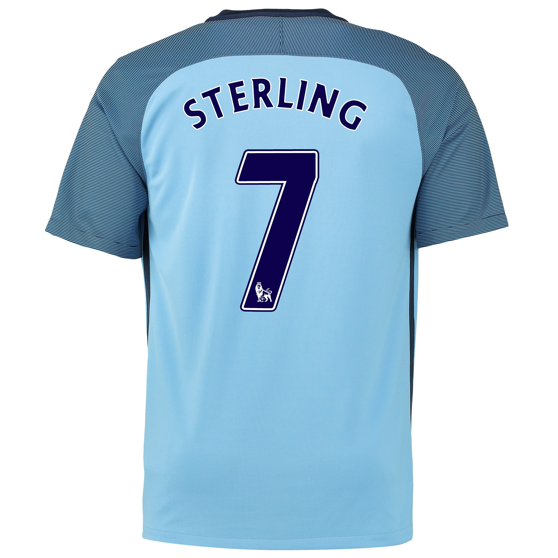 Manchester City Home Shirt 2016-17 - Kids with Sterling 7 printing