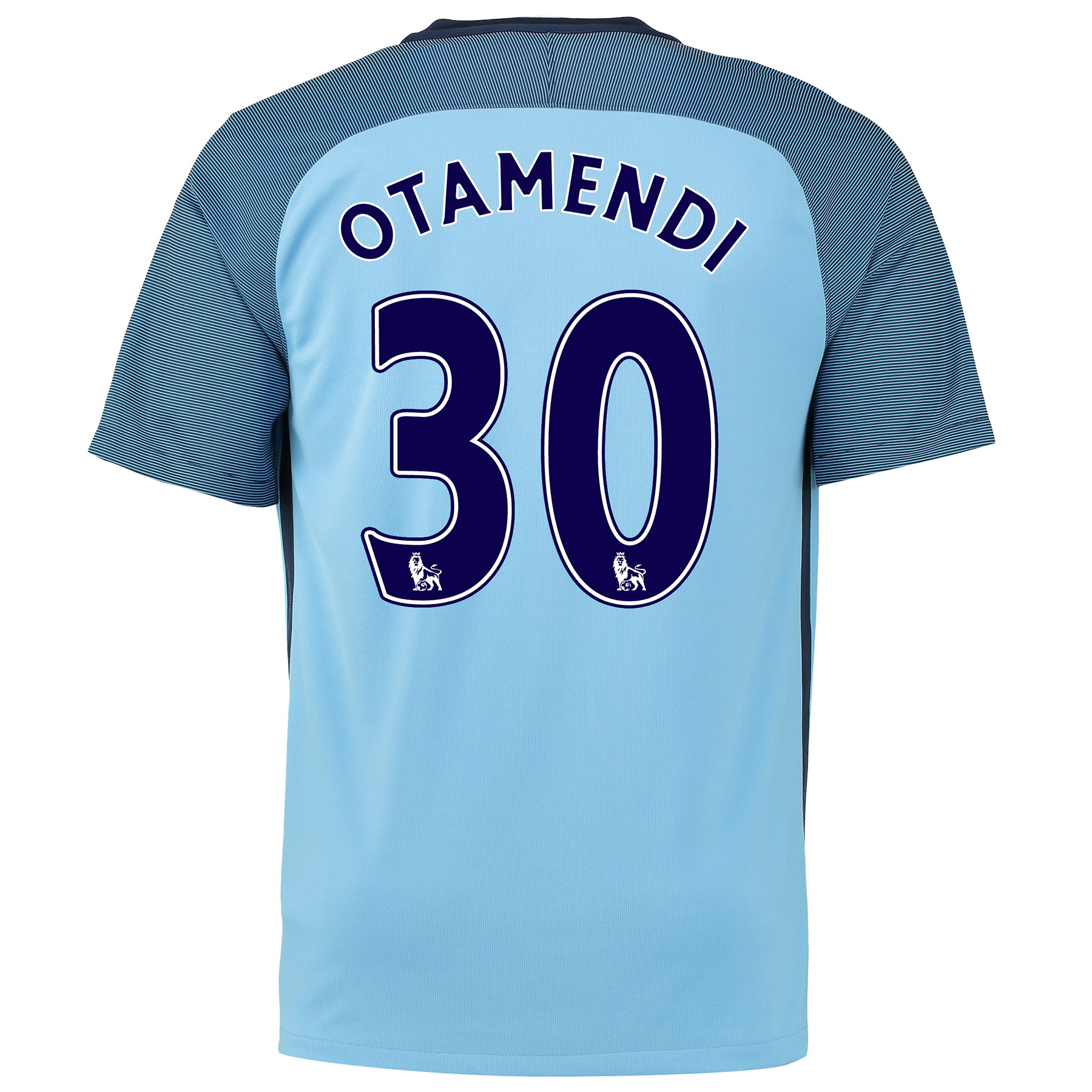 Manchester City Home Shirt 2016-17 - Kids with Otamendi 30 printing