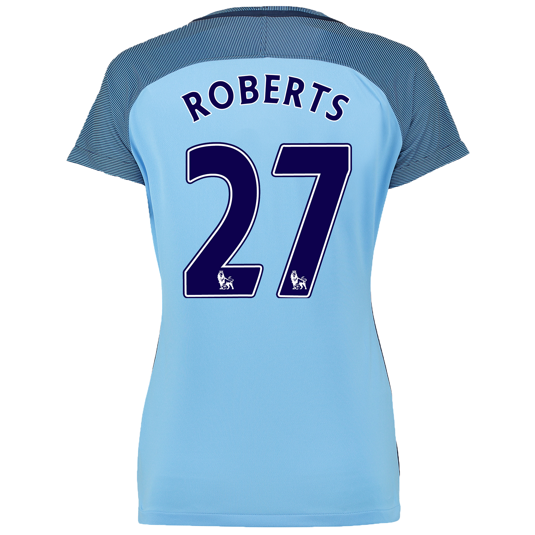 Manchester City Home Shirt 2016-17 - Womens with Roberts 27 printing