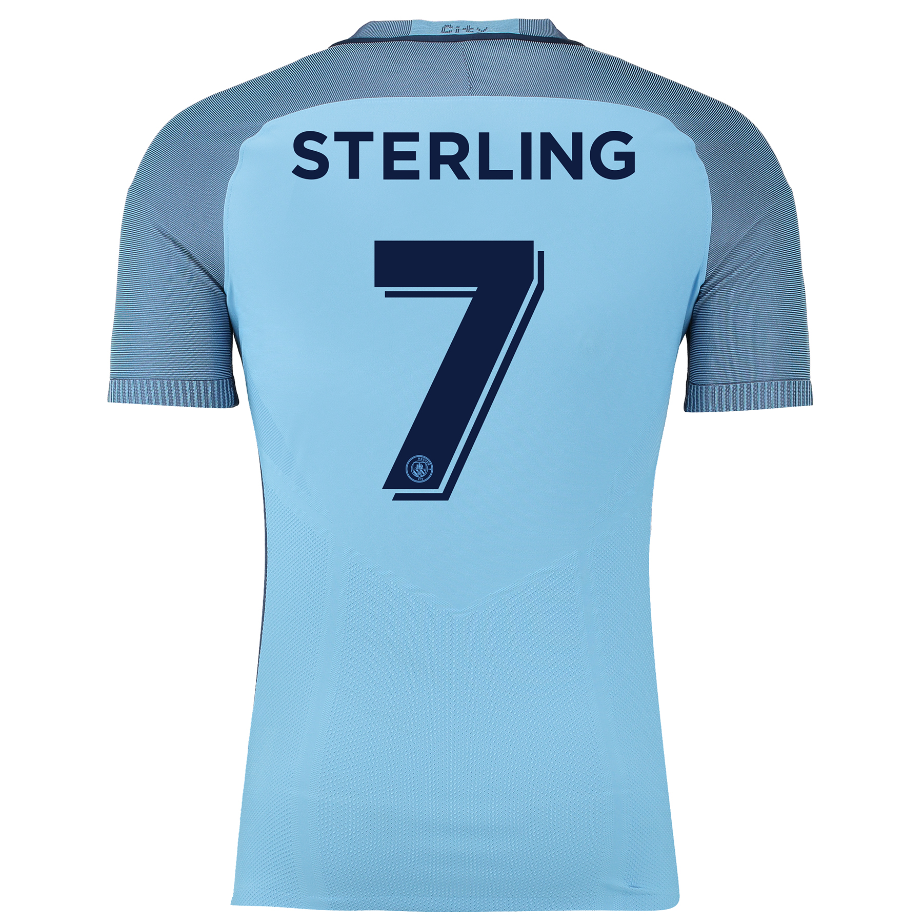 Manchester City Home Cup Match Shirt 2016-17 with Sterling 7 printing
