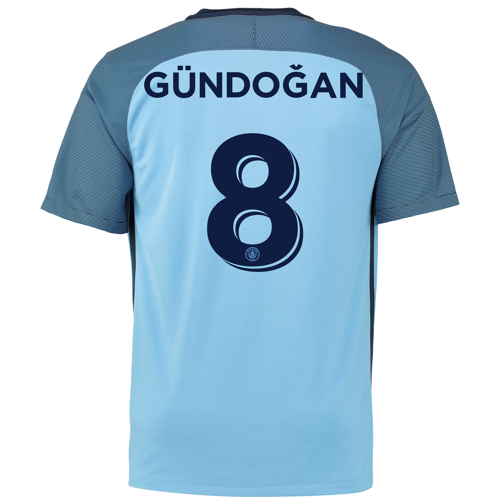Manchester City Home Cup Shirt 2016-17 with G??ndogan TBC printing