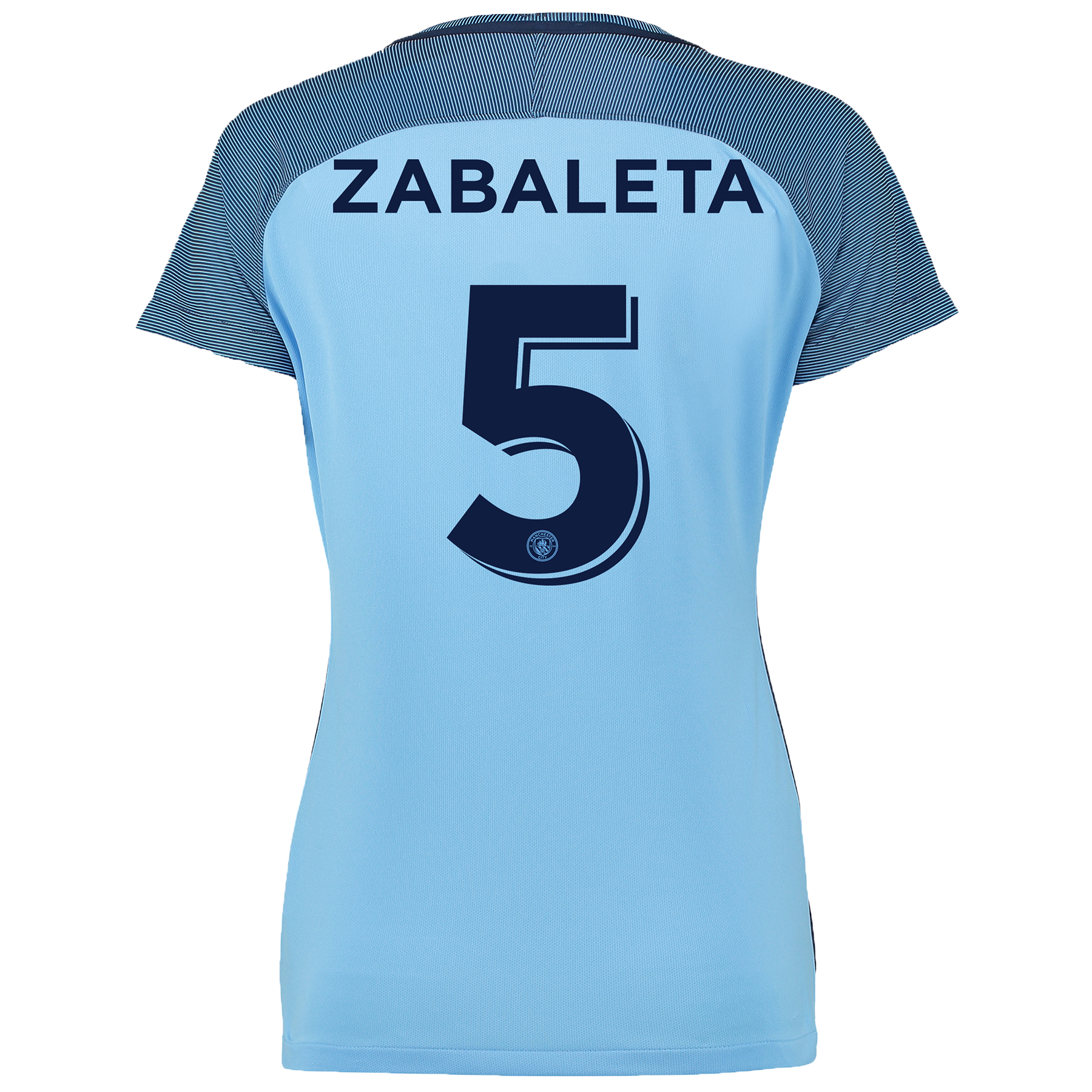 Manchester City Cup Home Shirt 2016-17 - Womens with Zabaleta 5 printi