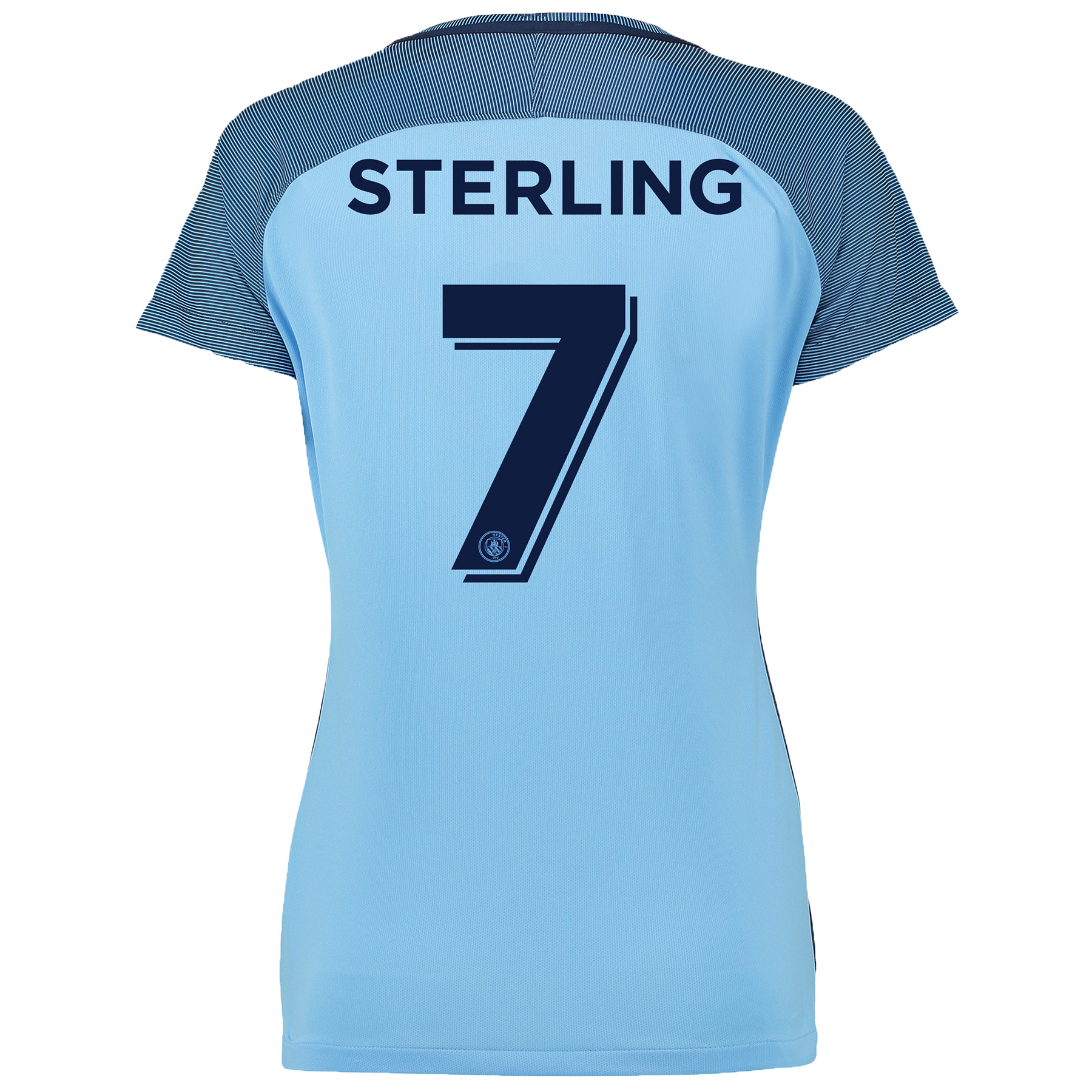 Manchester City Cup Home Shirt 2016-17 - Womens with Sterling 7 printi