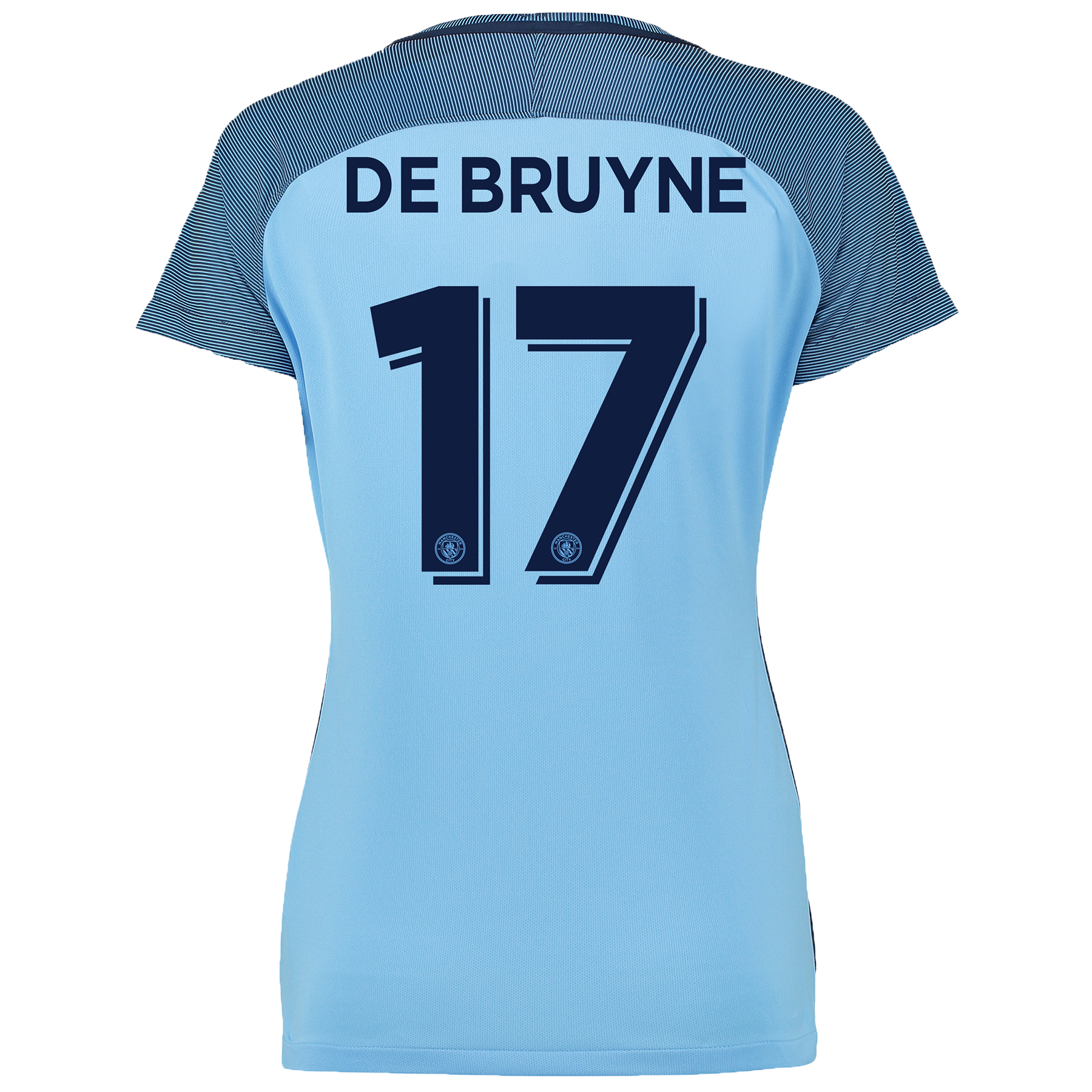 Manchester City Cup Home Shirt 2016-17 - Womens with De Bruyne 17 prin