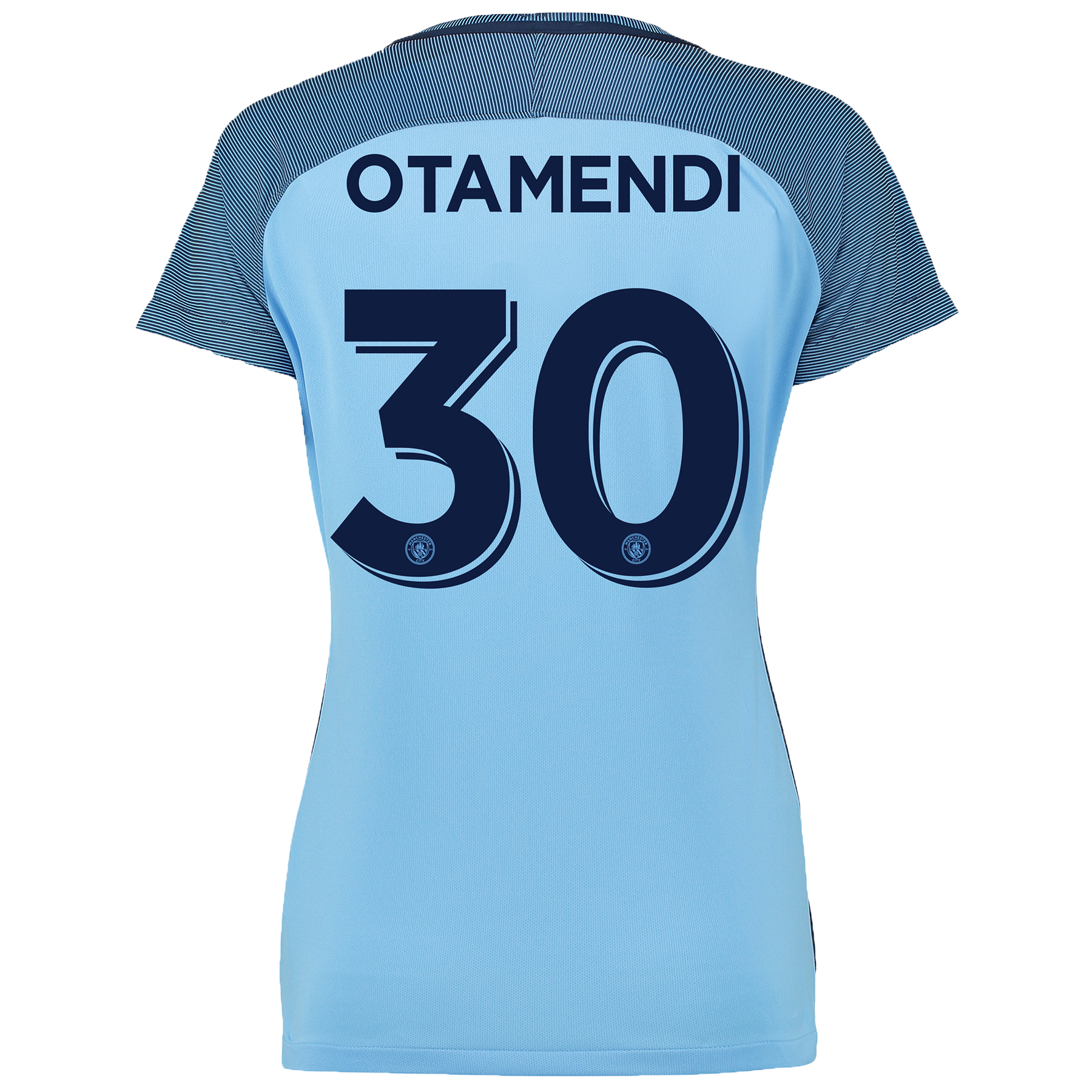 Manchester City Cup Home Shirt 2016-17 - Womens with Otamendi 30 print