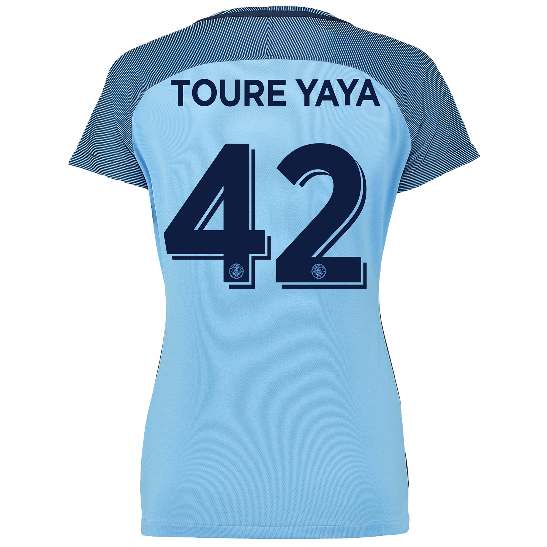 Manchester City Cup Home Shirt 2016-17 - Womens with Toure Yaya 42 pri