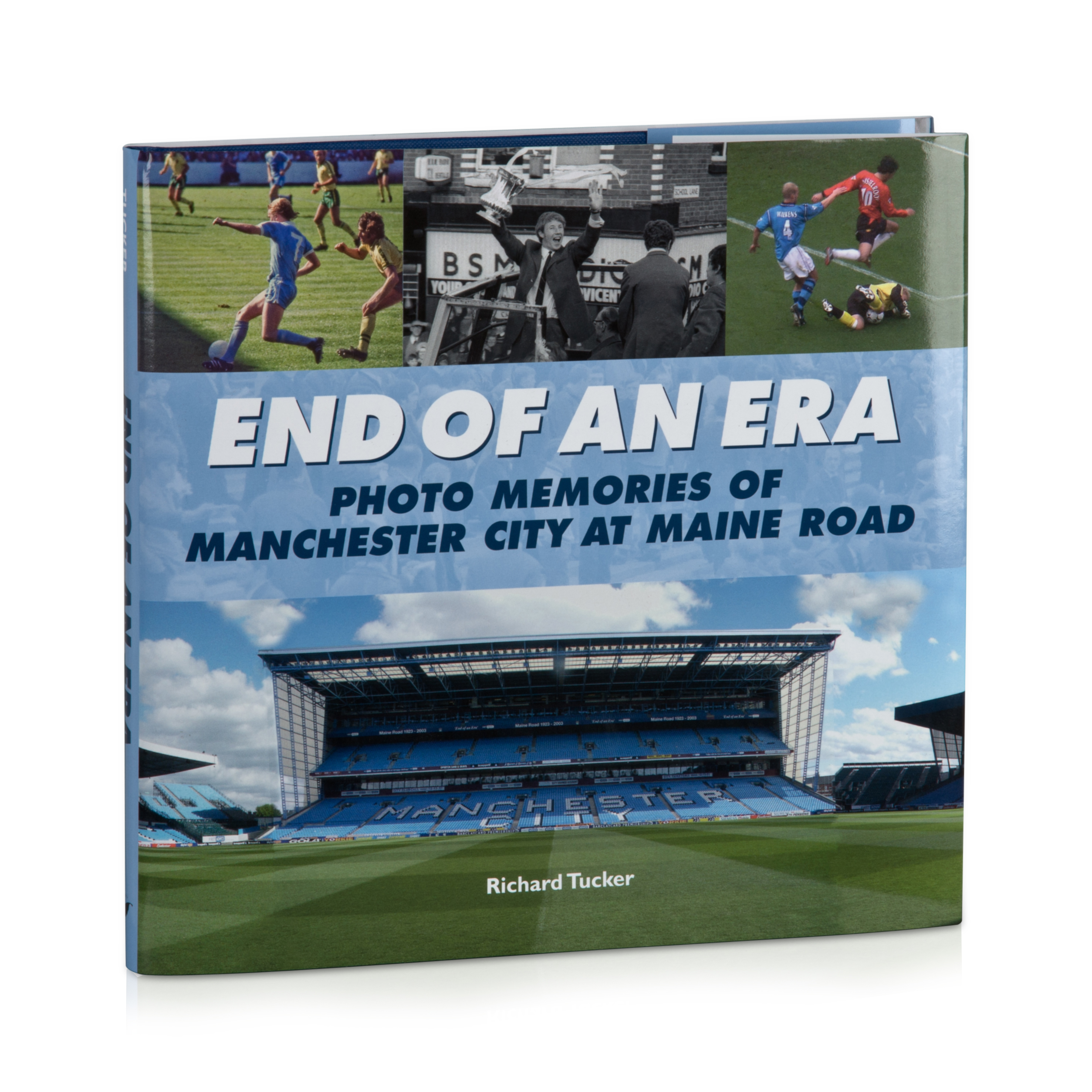 Manchester City End of an Era Book