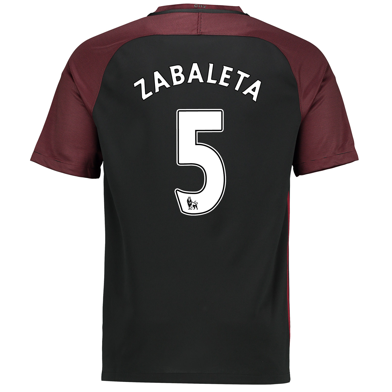 Manchester City Away Stadium Shirt 2016-17-Kids with Zabaleta 5 printi