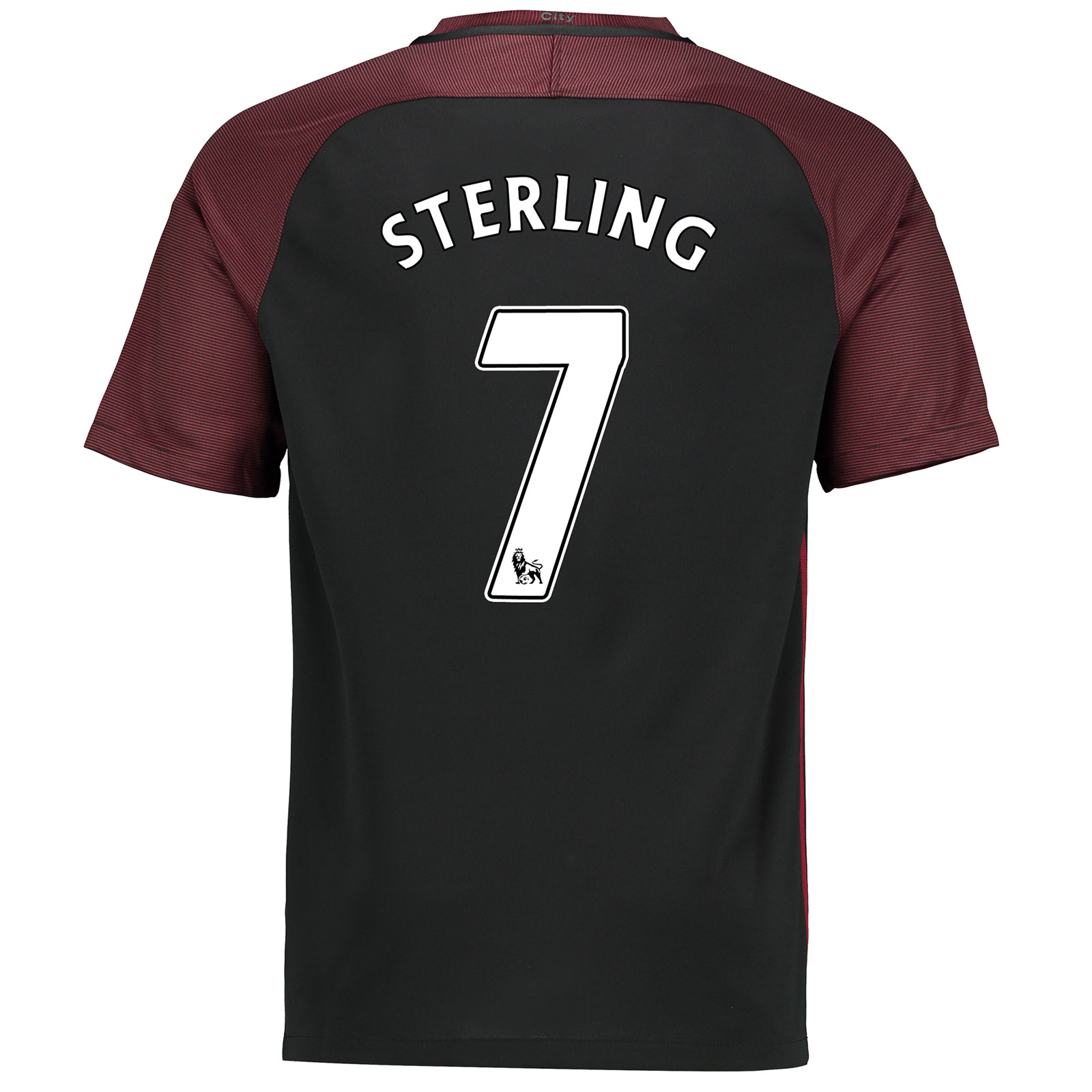 Manchester City Away Stadium Shirt 2016-17-Kids with Sterling 7 printi