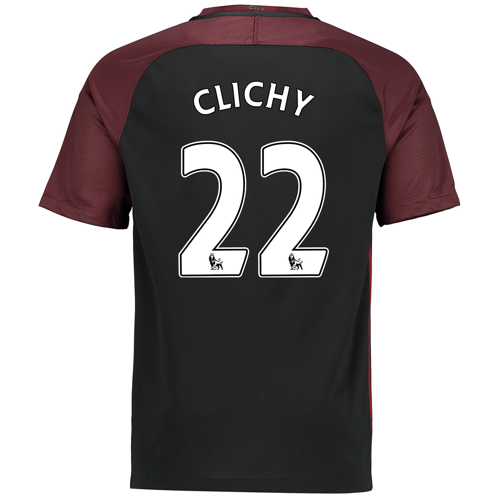 Manchester City Away Stadium Shirt 2016-17-Kids with Clichy 22 printin