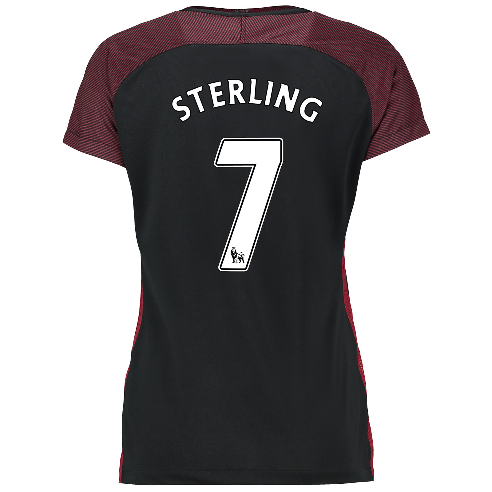 Manchester City Away Stadium Shirt 2016-17-Womens with Sterling 7 prin