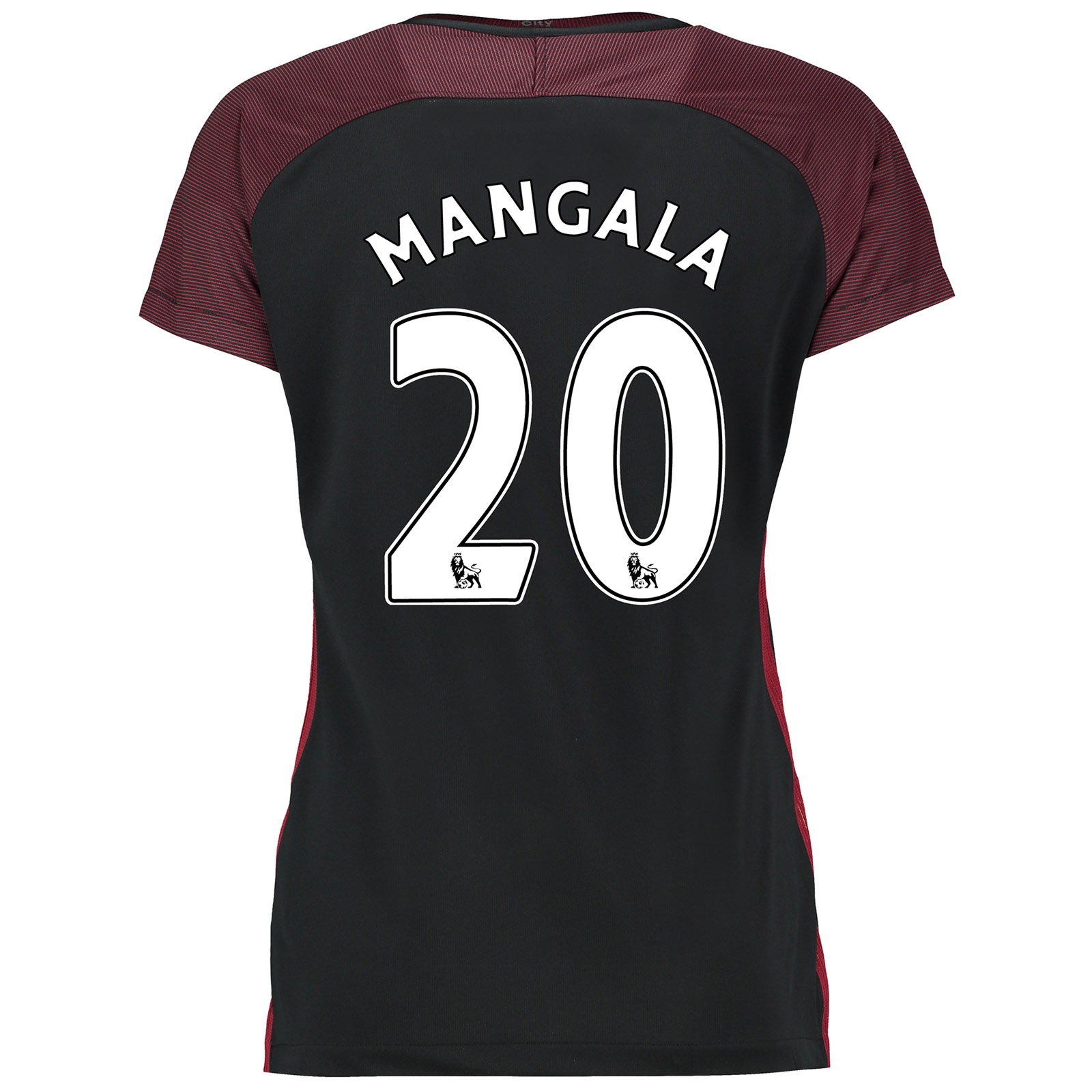 Manchester City Away Stadium Shirt 2016-17-Womens with Mangala 20 prin