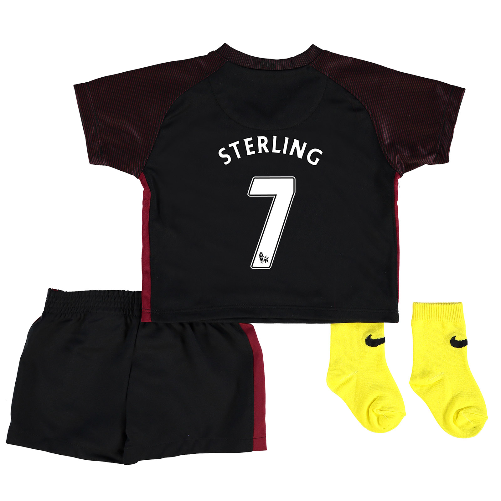 Manchester City Away Stadium Kit 2016-17 - Infants with Sterling 7 pri