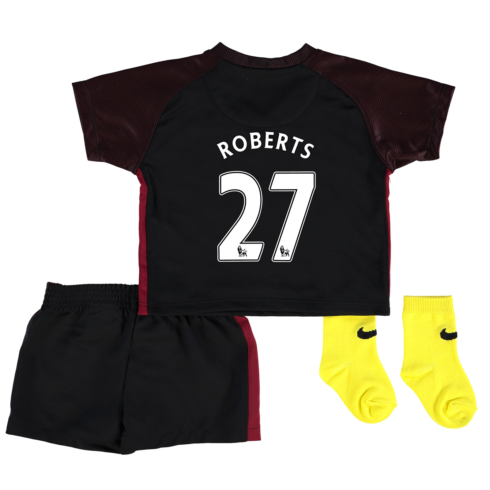 Manchester City Away Stadium Kit 2016-17 - Infants with Roberts 27 pri