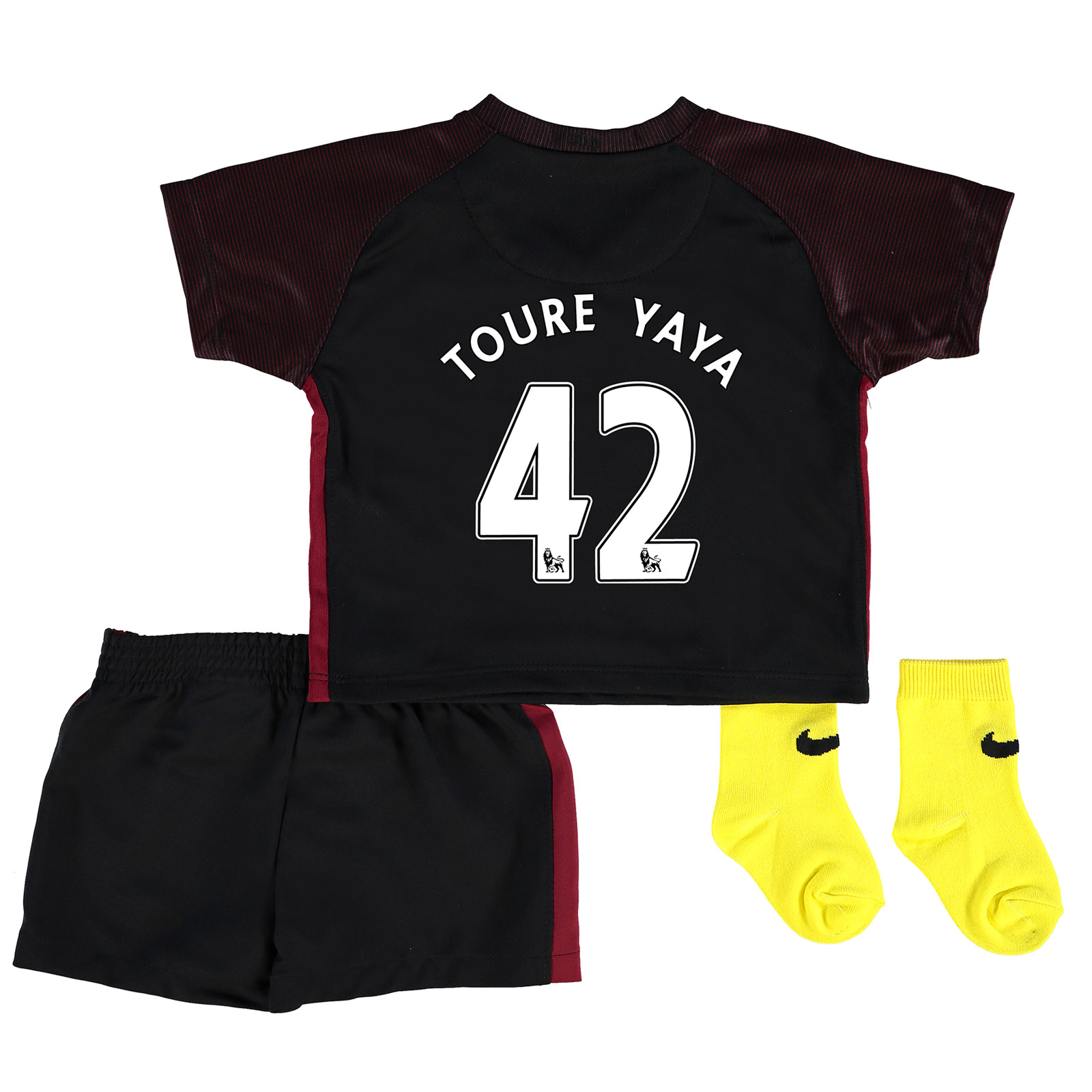 Manchester City Away Stadium Kit 2016-17 - Infants with Toure Yaya 42