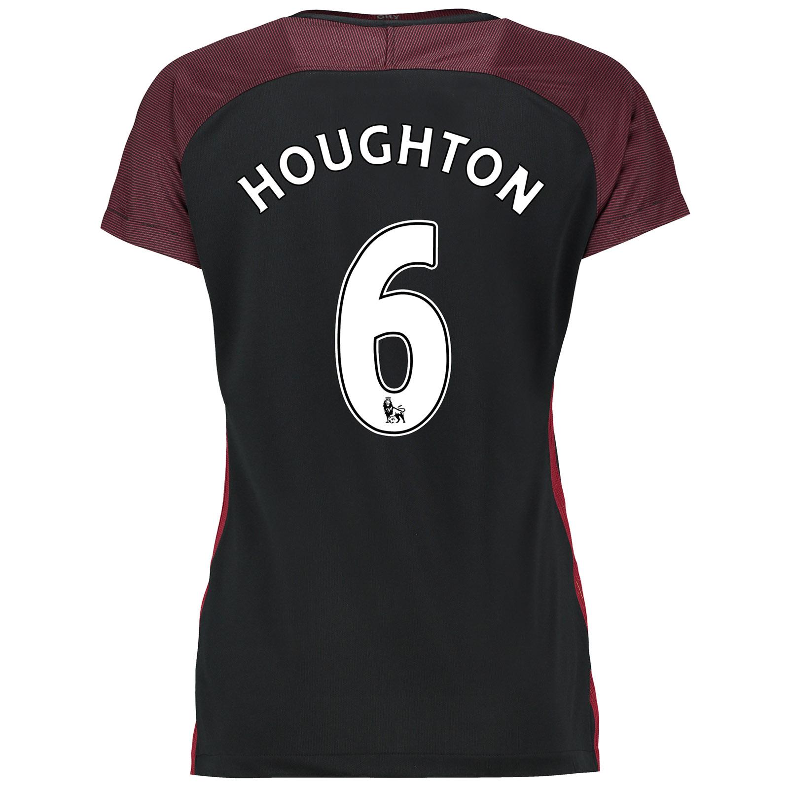 Manchester City Away Stadium Shirt 2016-17-Womens with Houghton 6 prin