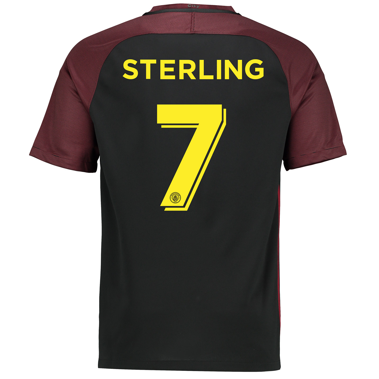 Manchester City Away Cup Stadium Shirt 2016-17 with Sterling 7 printin