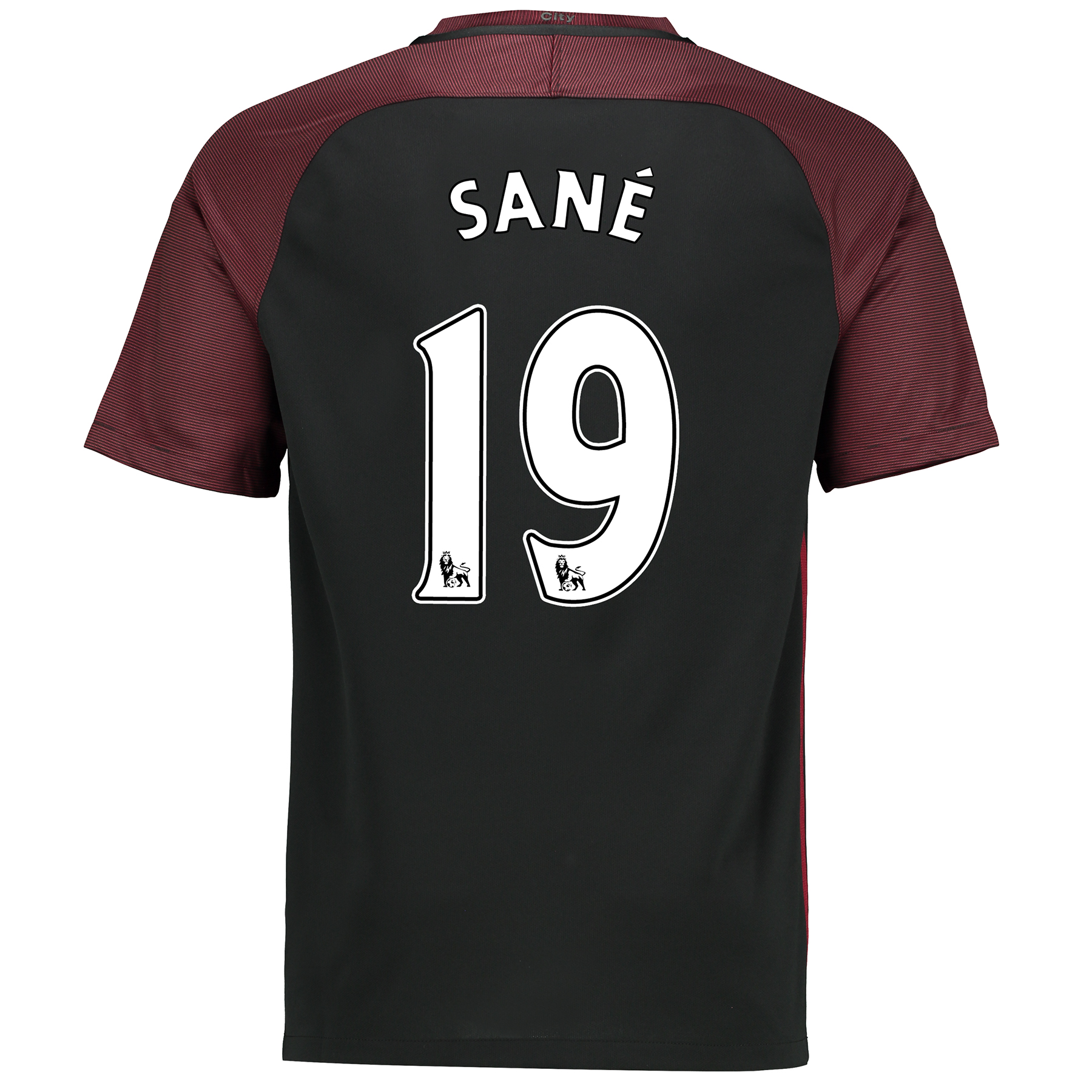 Manchester City Away Stadium Shirt 2016-17 with San?® 19 printing