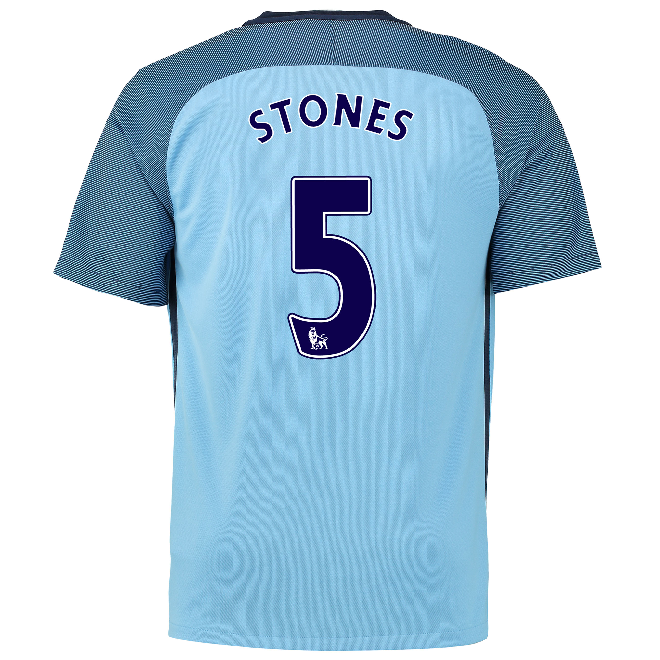 Manchester City Home Stadium Shirt 2016-17 - Kids with Stones 24 print