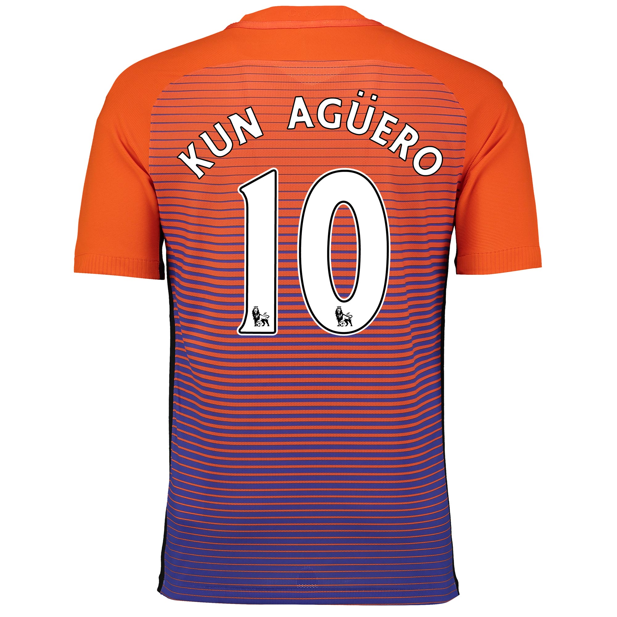 Manchester City Third Vapor Match Shirt 2016-17 with Kun Ag??ero  10 pr