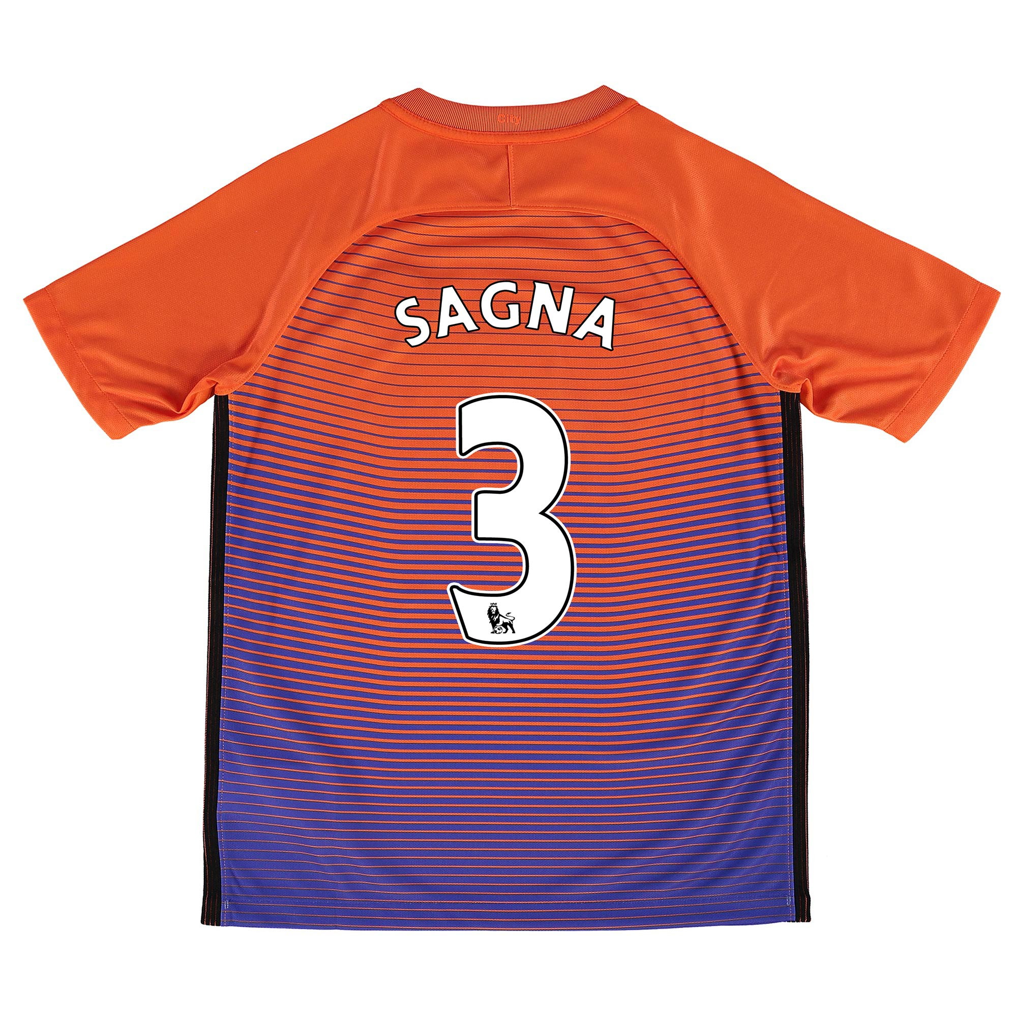 Manchester City Third Stadium Shirt 2016-17 - Kids with Sagna 3 printi