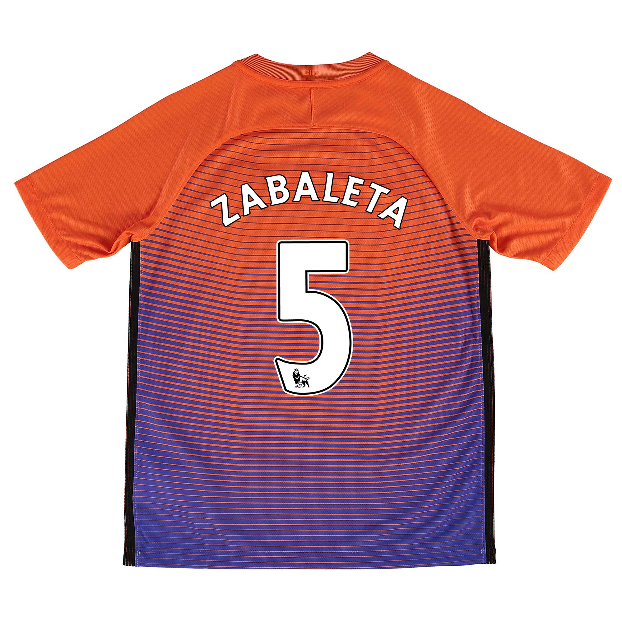 Manchester City Third Stadium Shirt 2016-17 - Kids with Zabaleta 5 pri