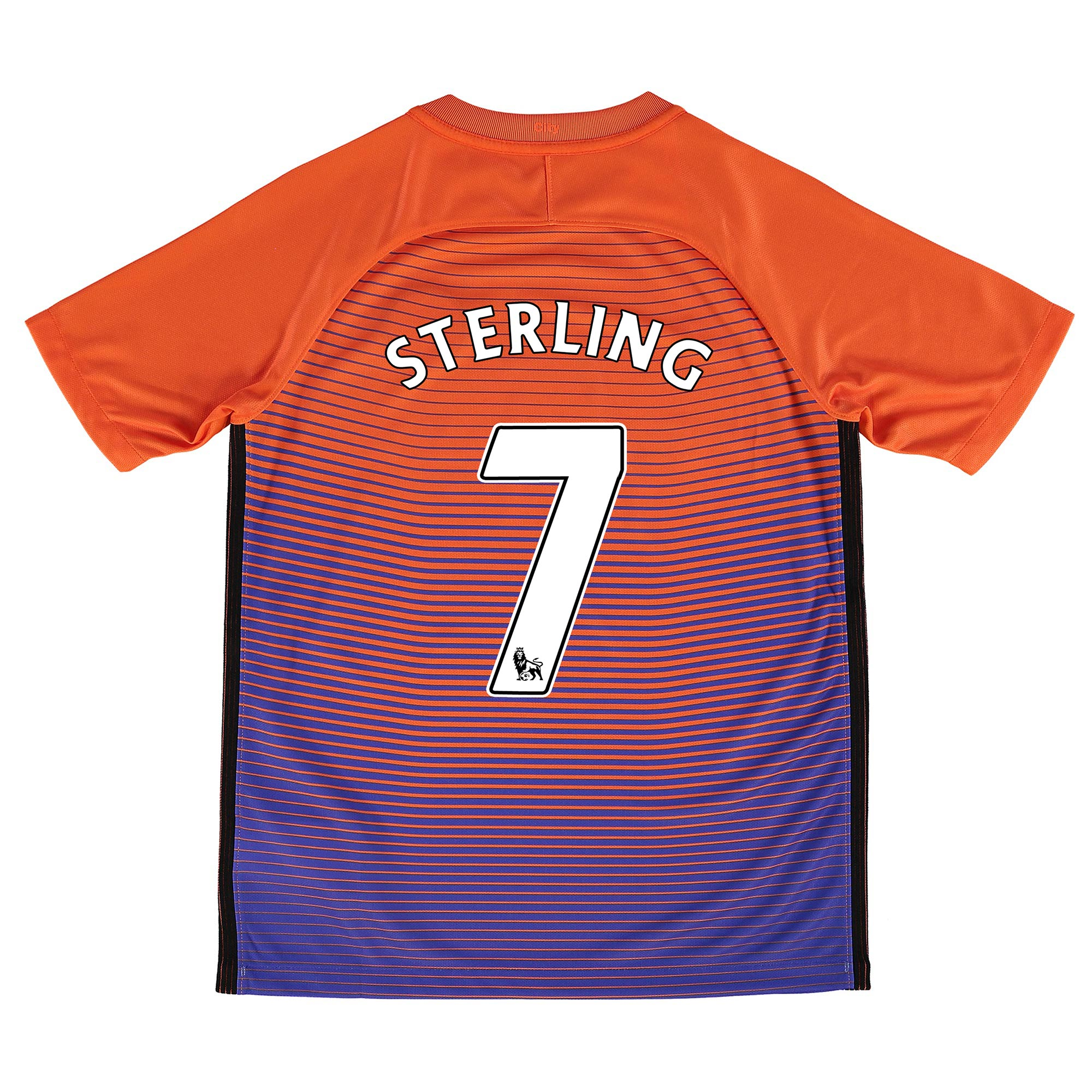 Manchester City Third Stadium Shirt 2016-17 - Kids with Sterling 7 pri