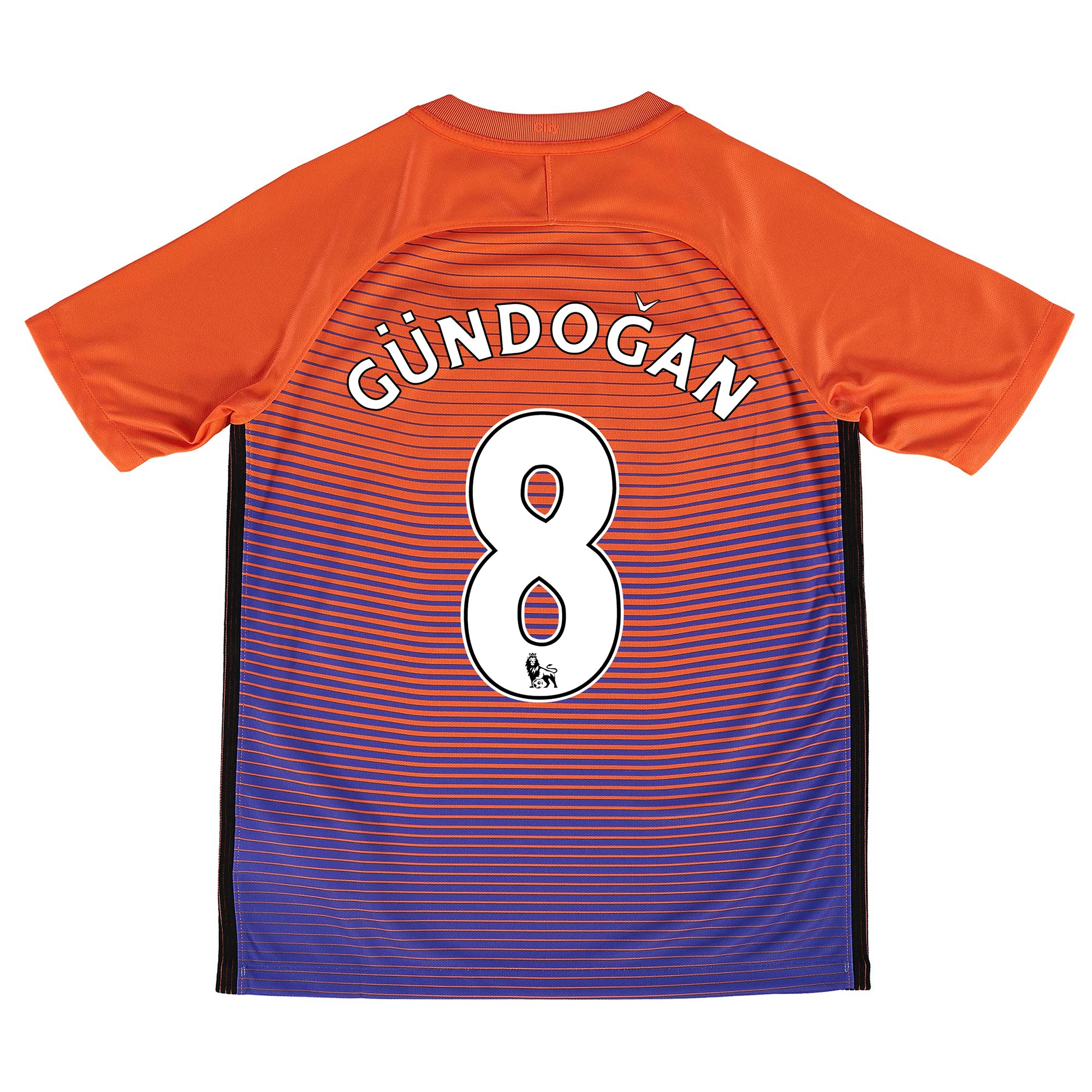 Manchester City Third Stadium Shirt 2016-17 - Kids with G??ndogan 8 pri