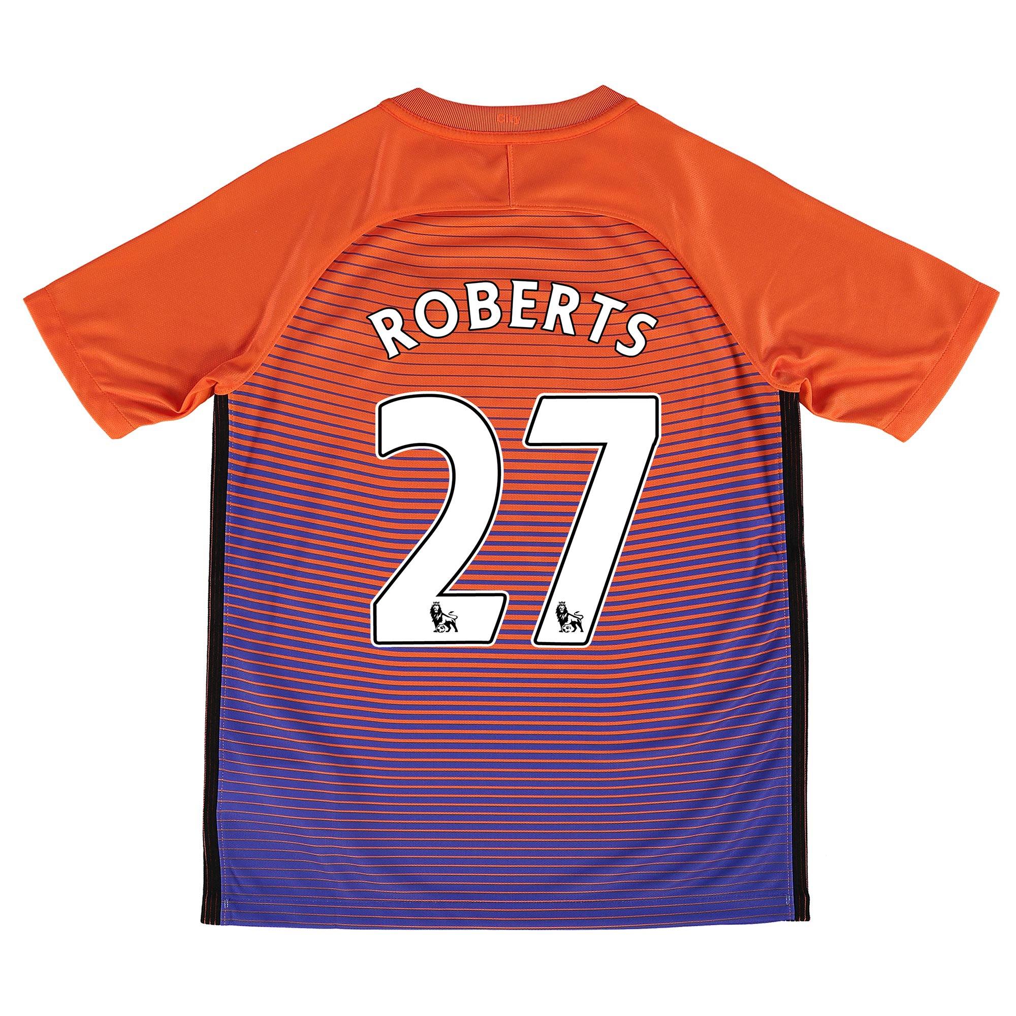 Manchester City Third Stadium Shirt 2016-17 - Kids with Roberts 27 pri