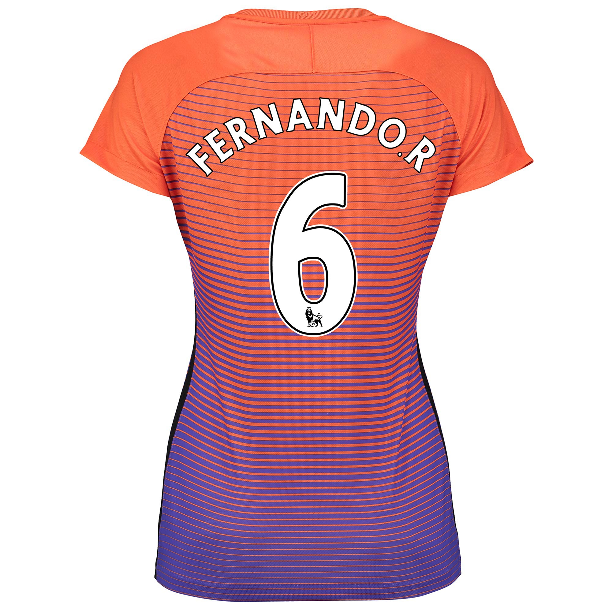 Manchester City Third Stadium Shirt 2016-17 - Womens with Fernando. R