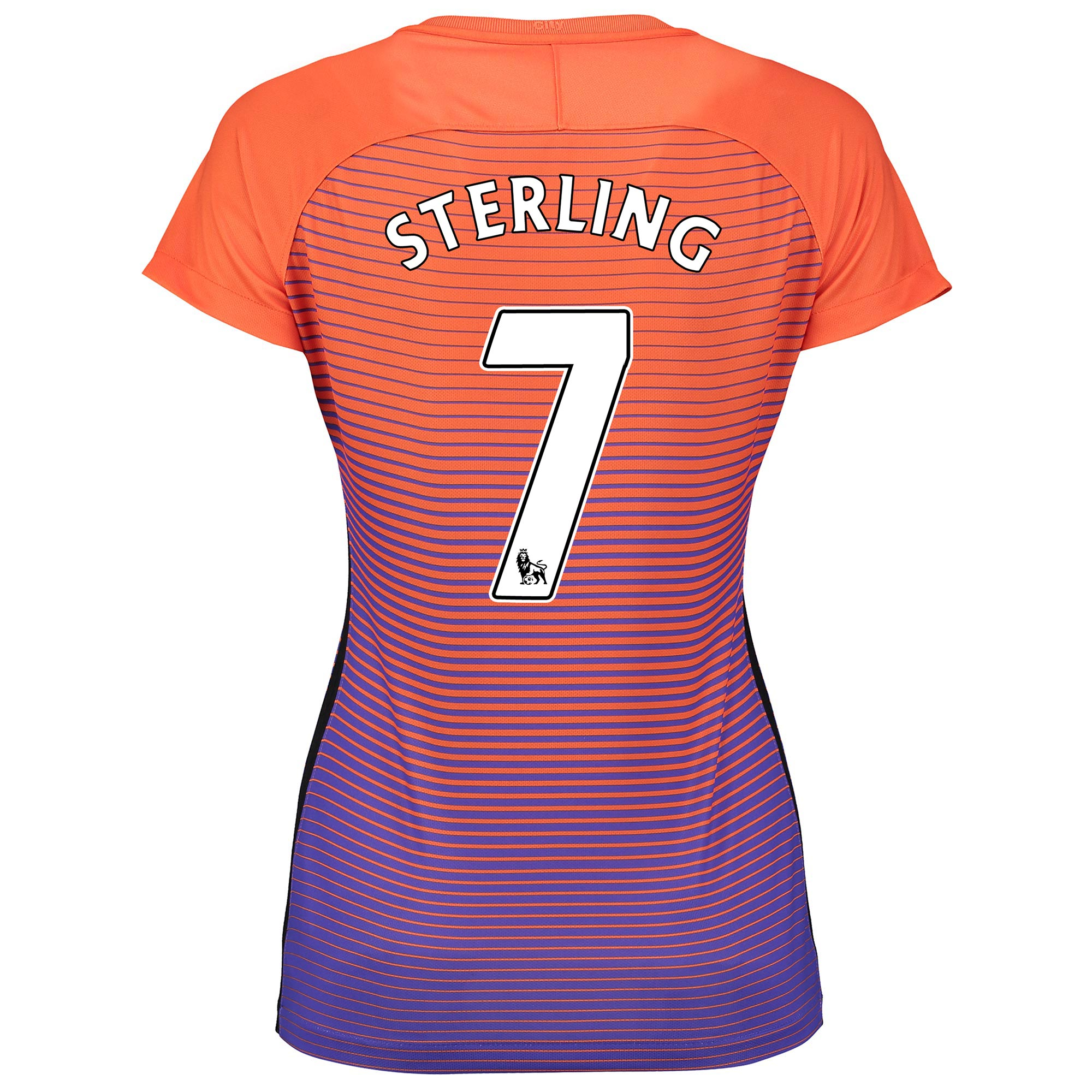 Manchester City Third Stadium Shirt 2016-17 - Womens with Sterling 7 p