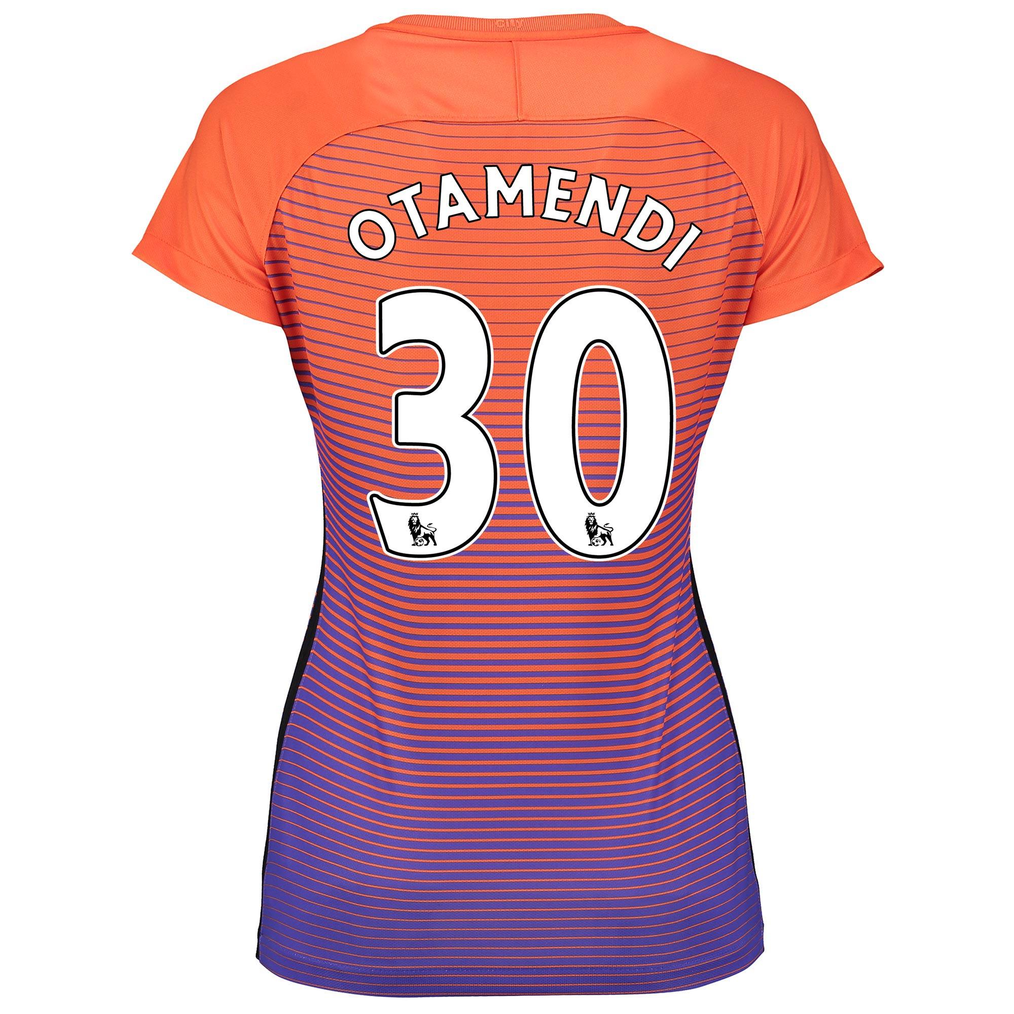 Manchester City Third Stadium Shirt 2016-17 - Womens with Otamendi 30