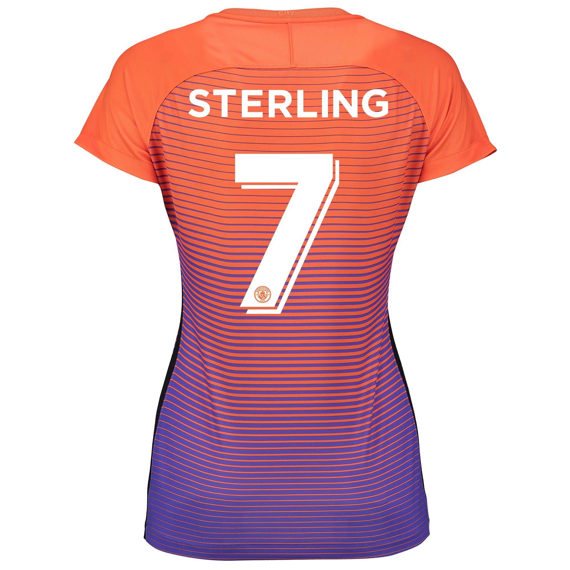 Manchester City Third Cup Stadium Shirt 2016-17 - Womens with Sterling