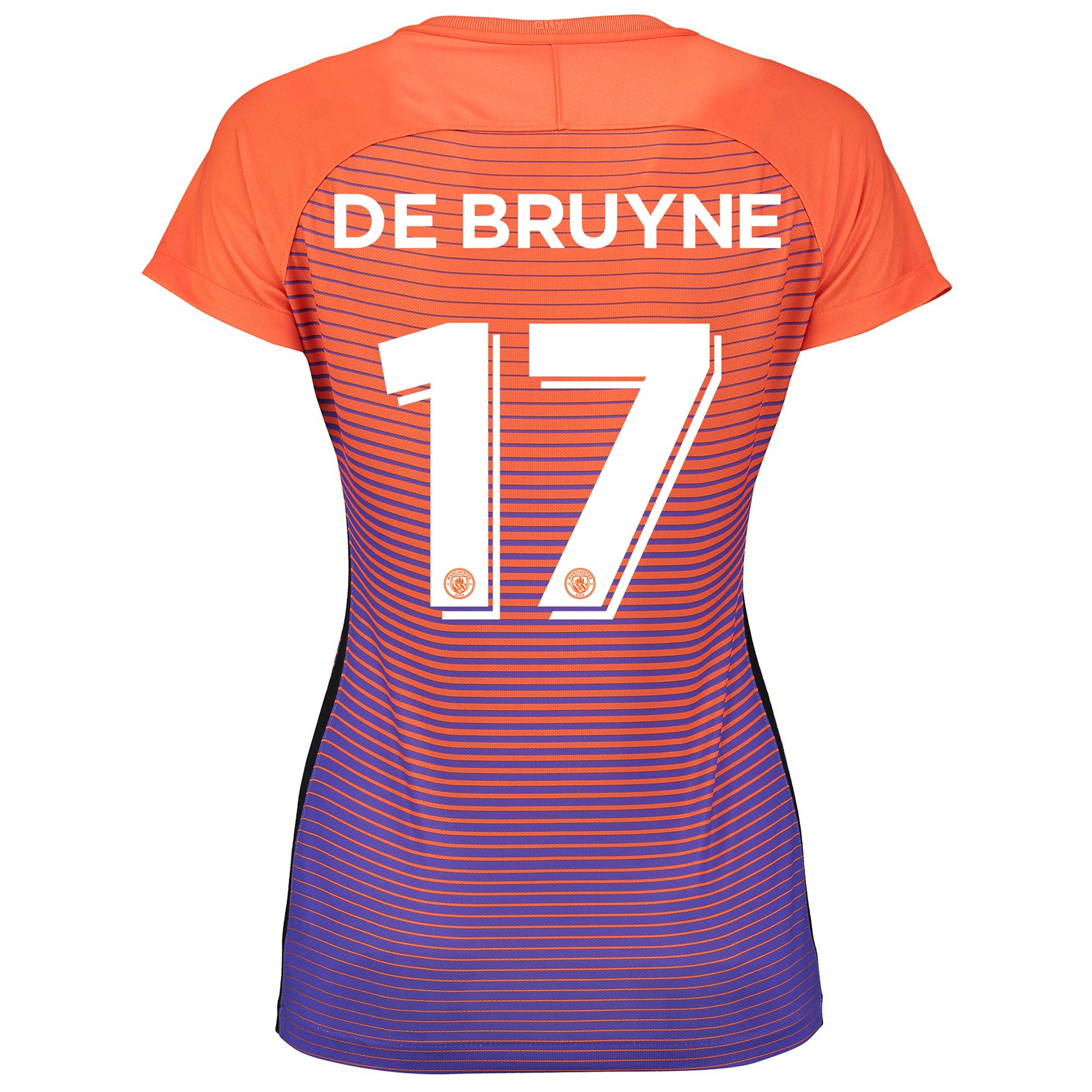 Manchester City Third Cup Stadium Shirt 2016-17 - Womens with De Bruyn