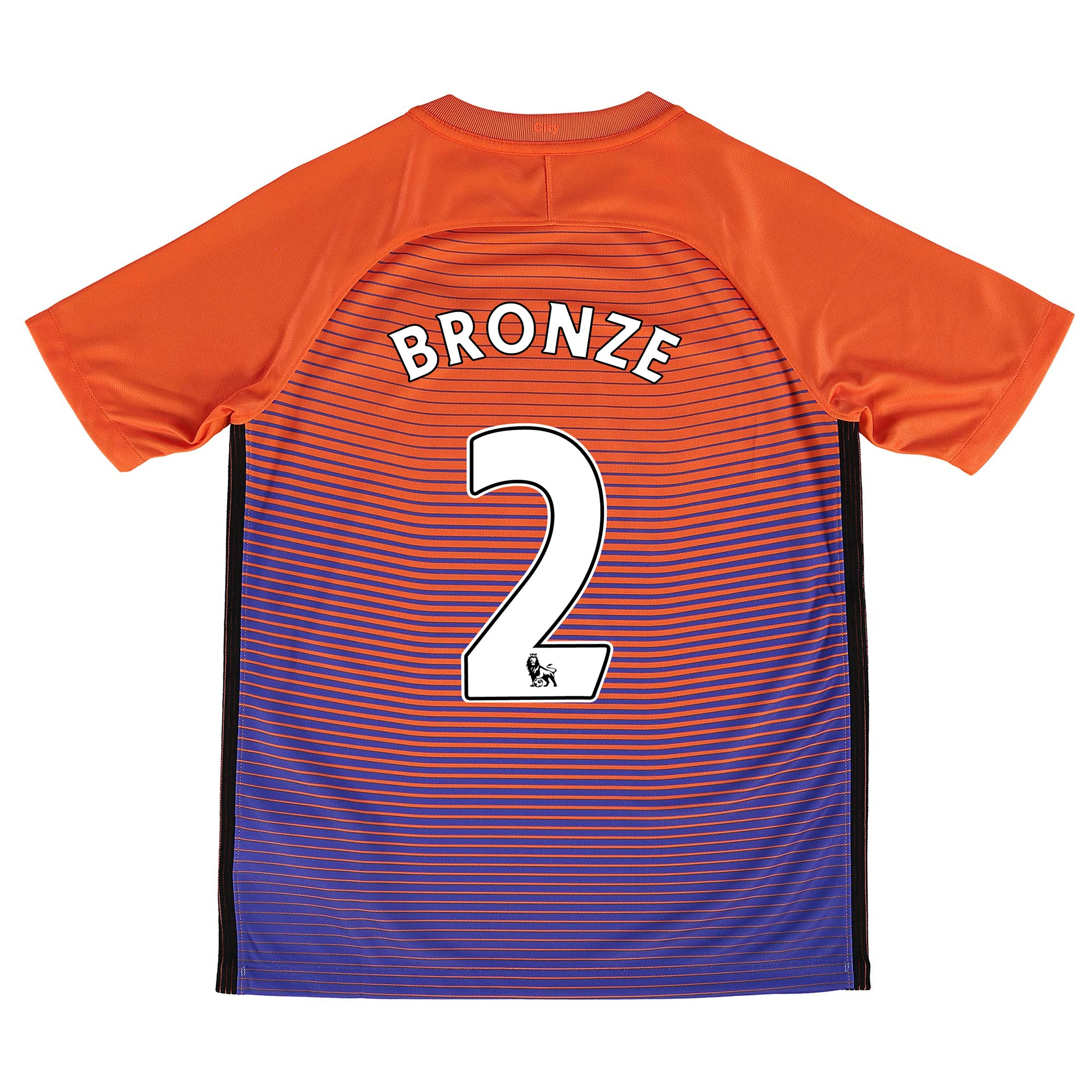 Manchester City Third Stadium Shirt 2016-17 - Kids with Bronze 2 print