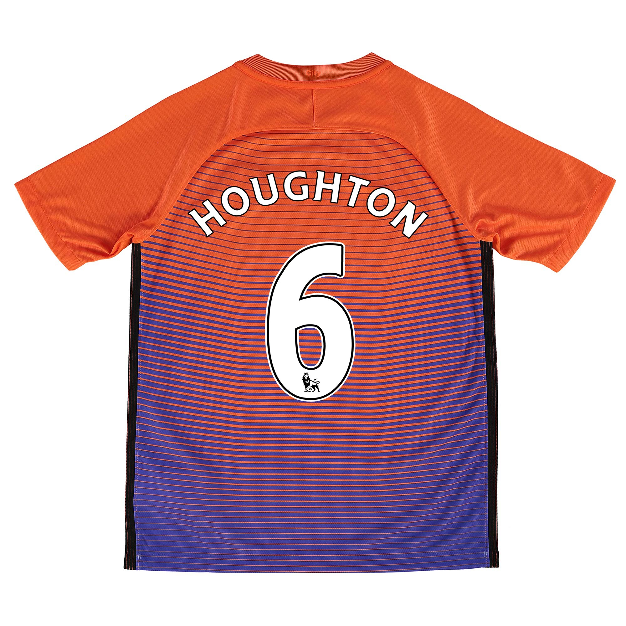 Manchester City Third Stadium Shirt 2016-17 - Kids with Houghton 6 pri