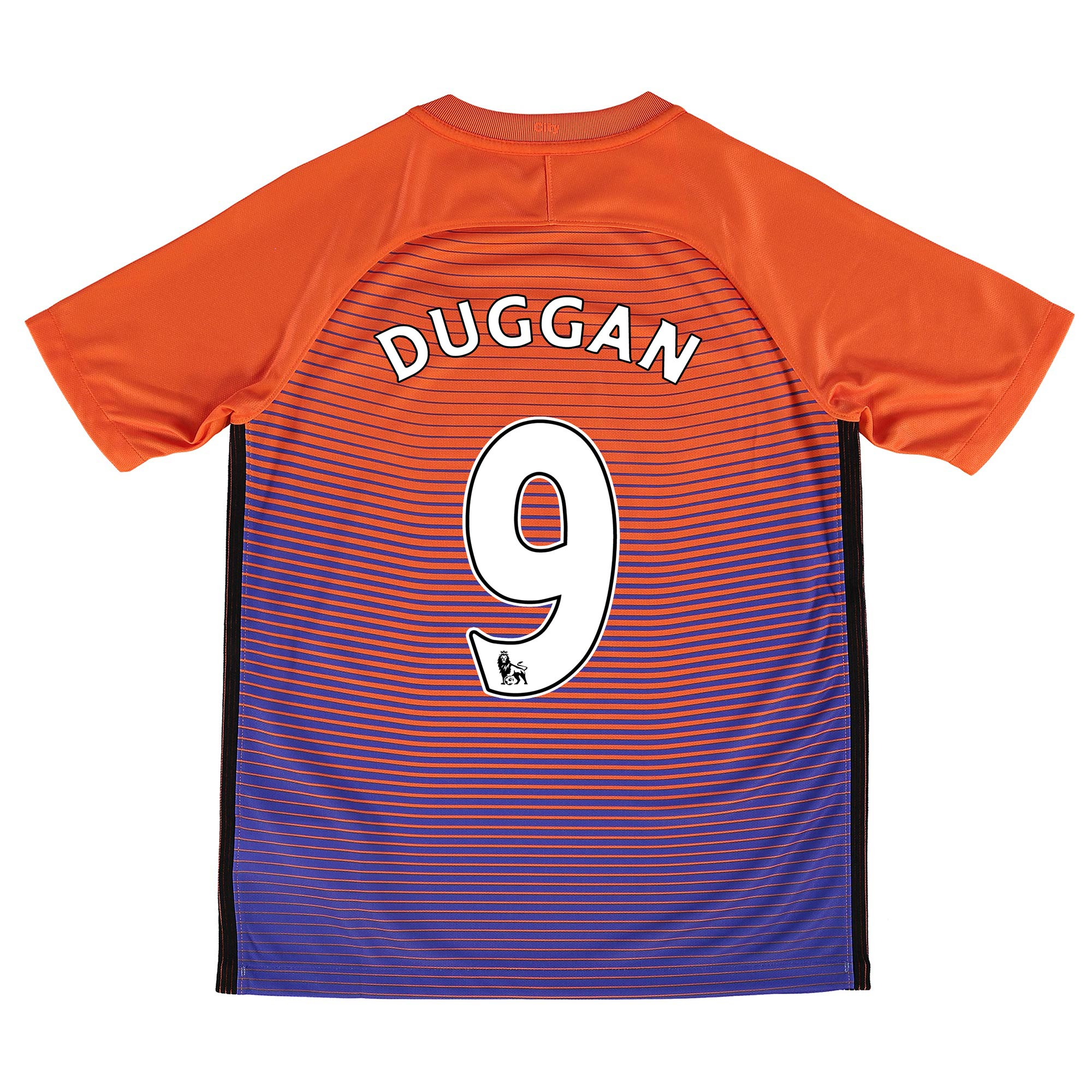 Manchester City Third Stadium Shirt 2016-17 - Kids with Duggan 9 print
